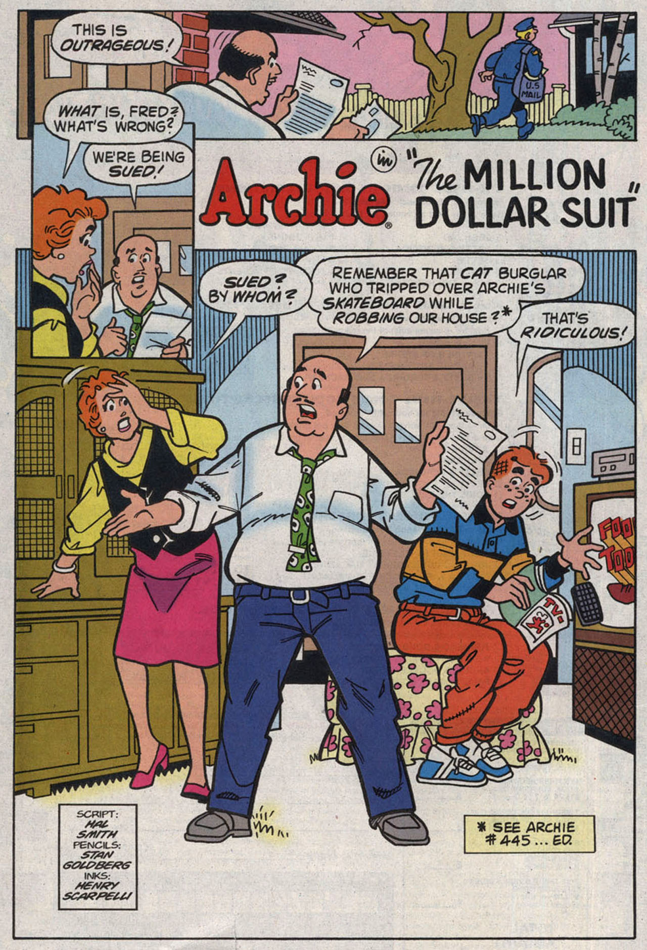 Read online Archie (1960) comic -  Issue #446 - 28