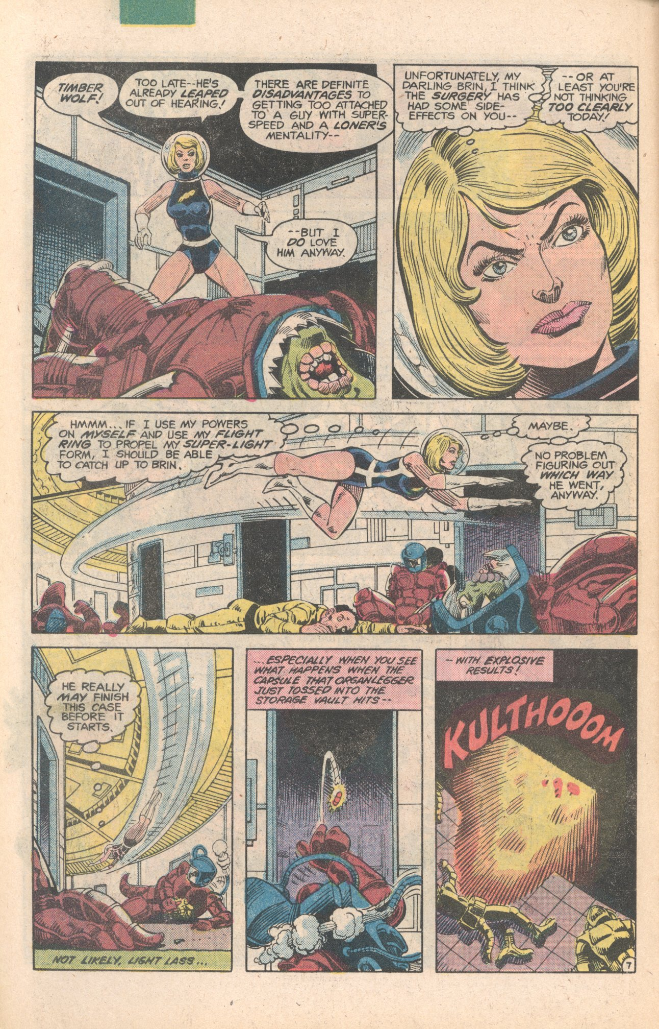 Legion of Super-Heroes (1980) 284 Page 7