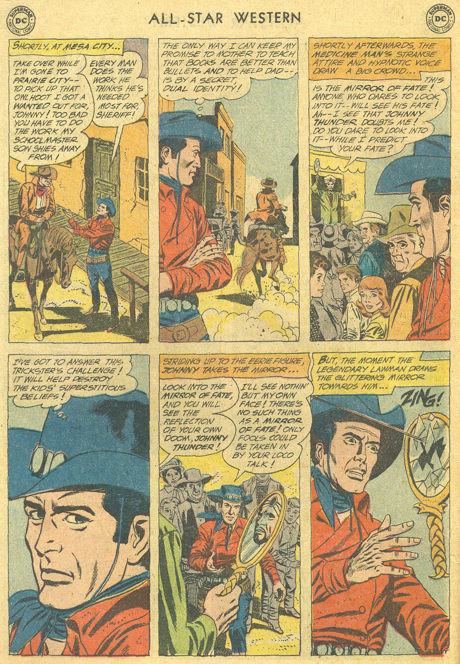 Read online All-Star Western (1951) comic -  Issue #114 - 6
