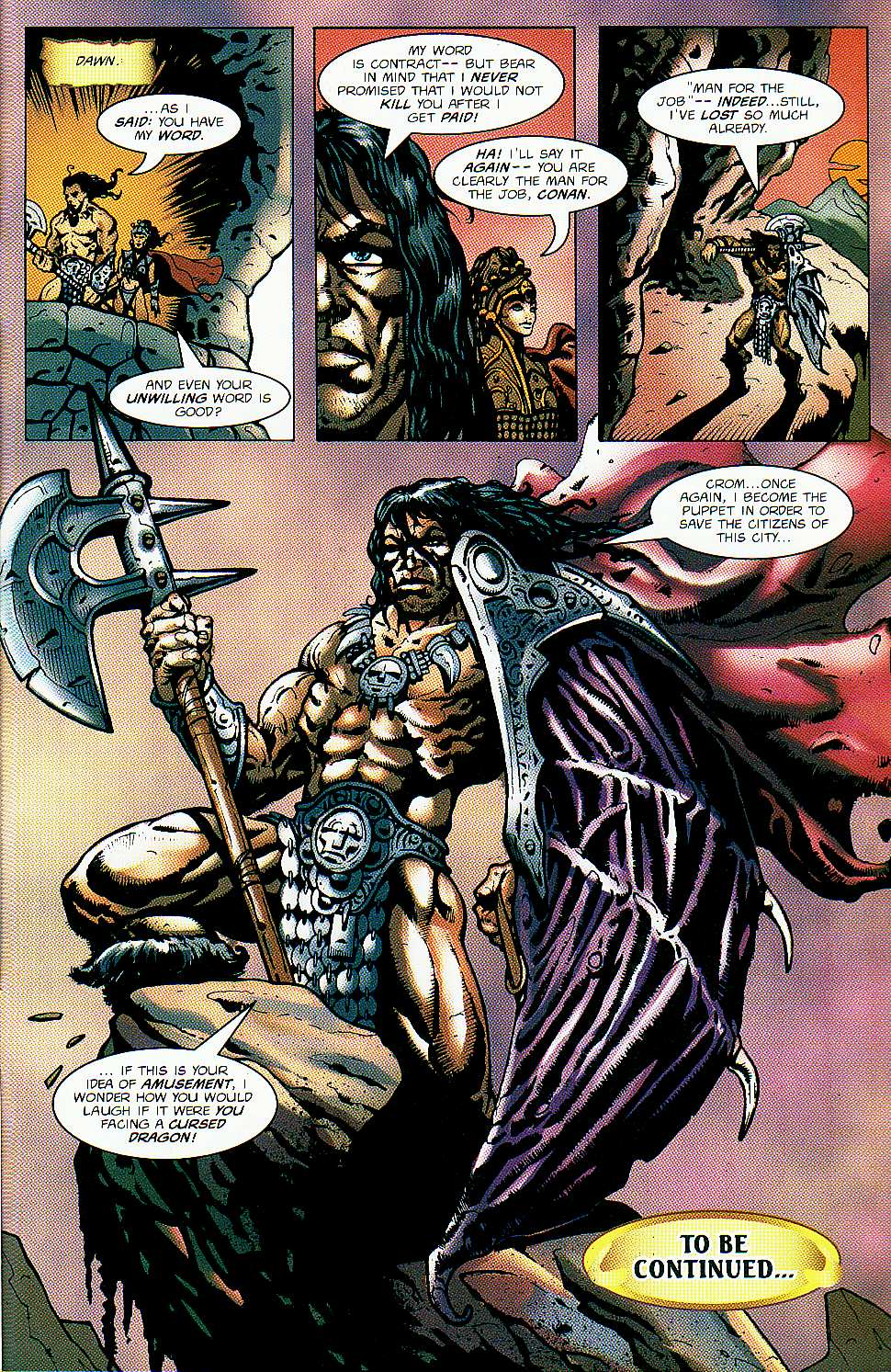 Read online Conan: Return of Styrm comic -  Issue #1 - 26