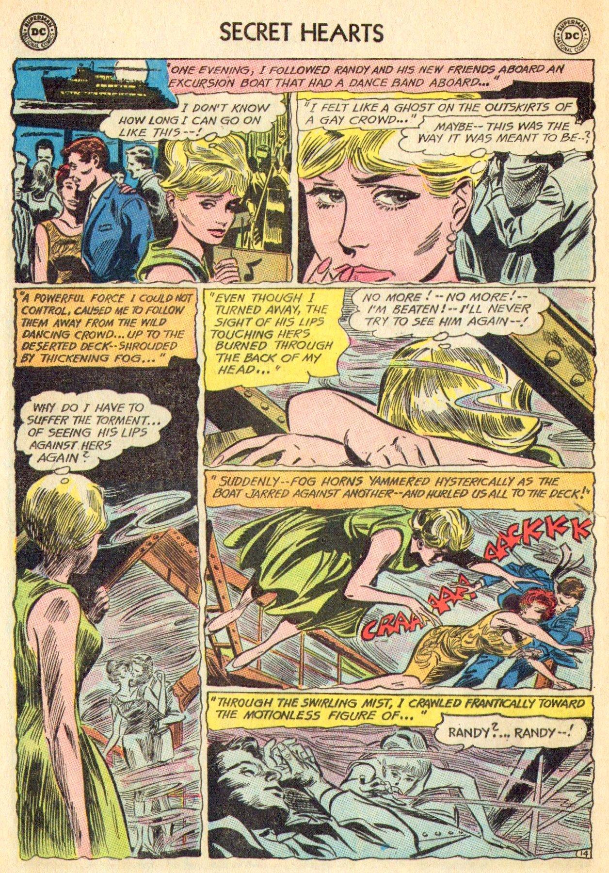 Read online Secret Hearts comic -  Issue #101 - 32