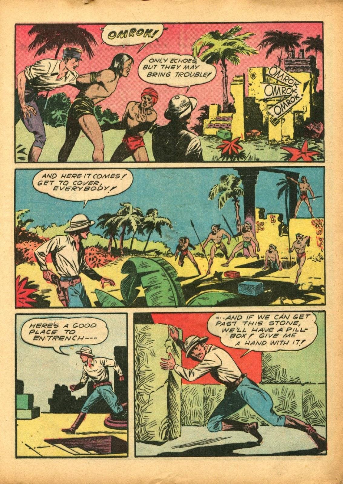 Read online Super-Magician Comics comic -  Issue #5 - 17