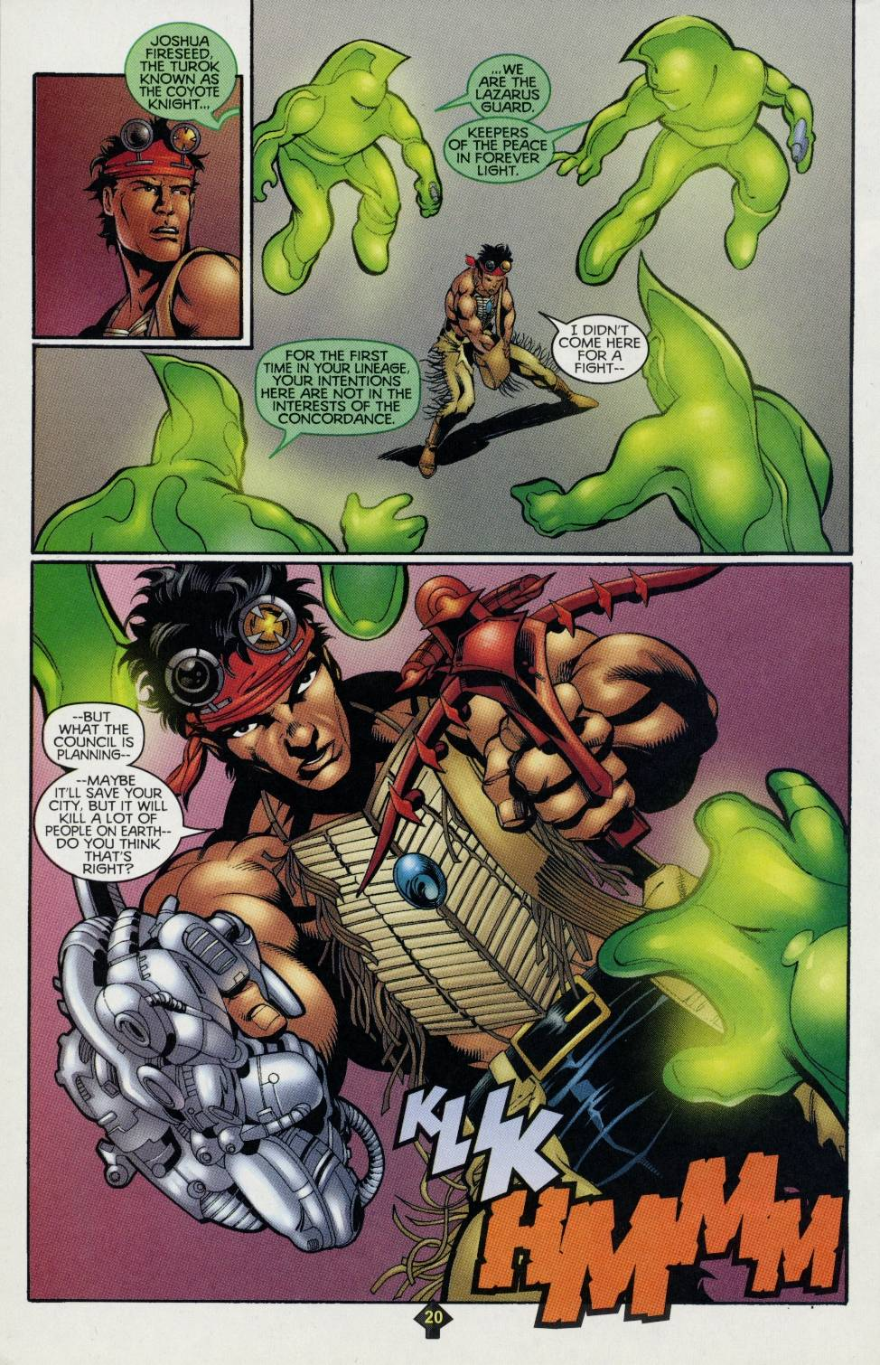 Read online Turok comic -  Issue #4 - 15