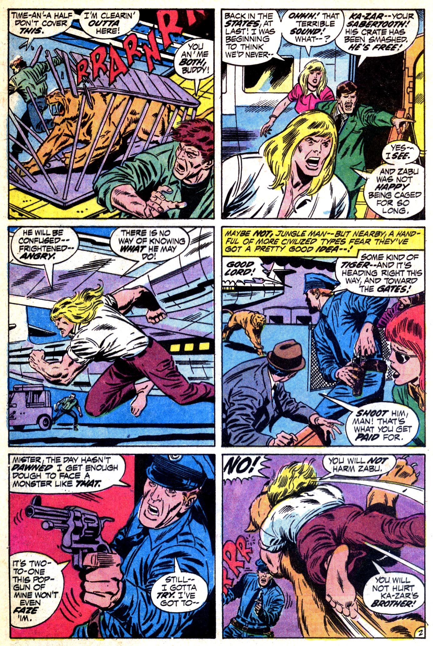 Read online Astonishing Tales (1970) comic -  Issue #12 - 3