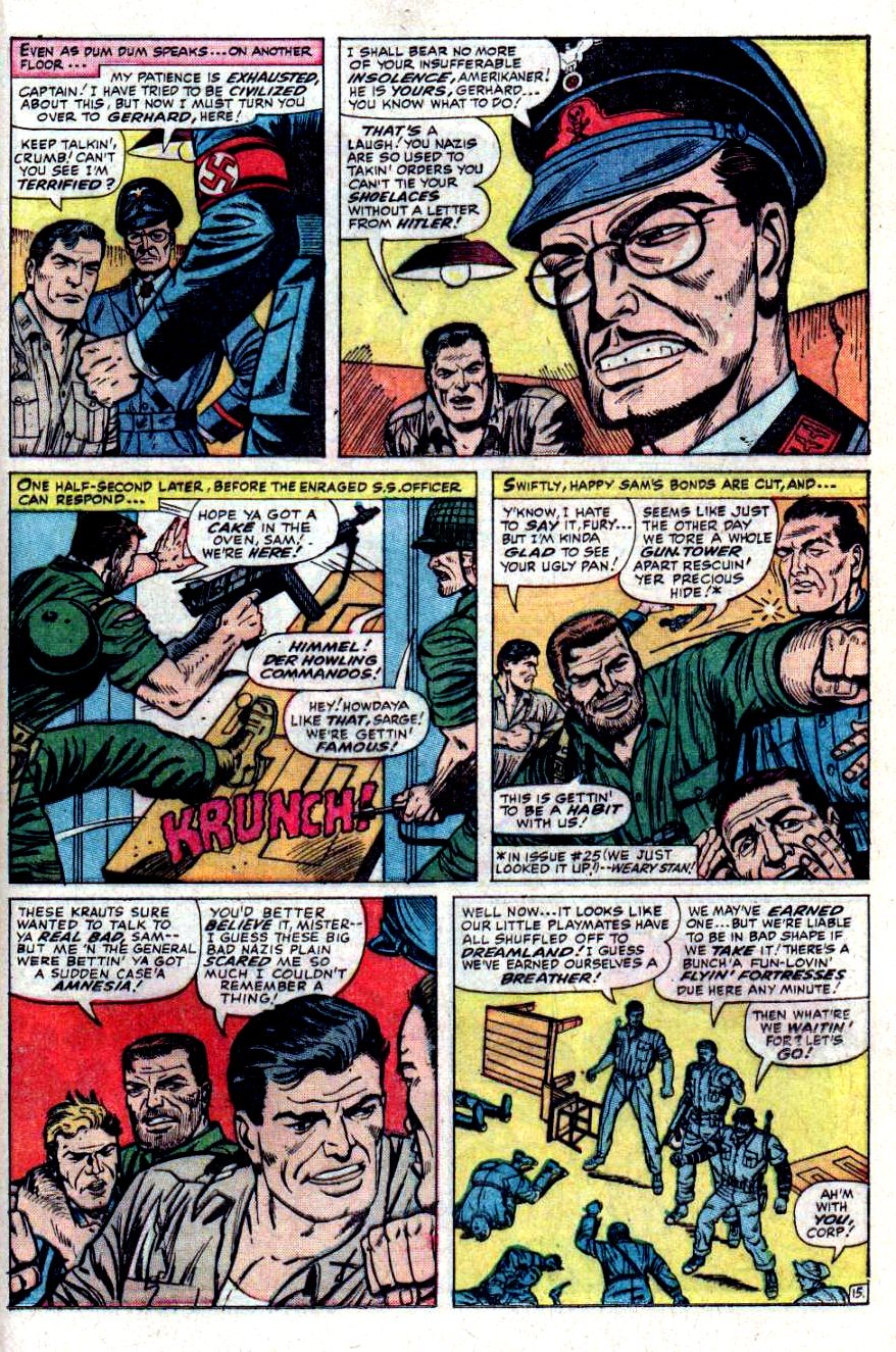 Read online Sgt. Fury comic -  Issue #31 - 21