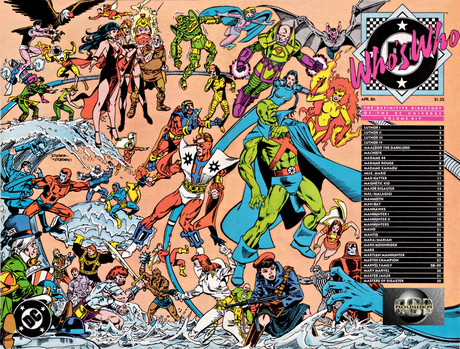 Whos Who: The Definitive Directory of the DC Universe 14 Page 1