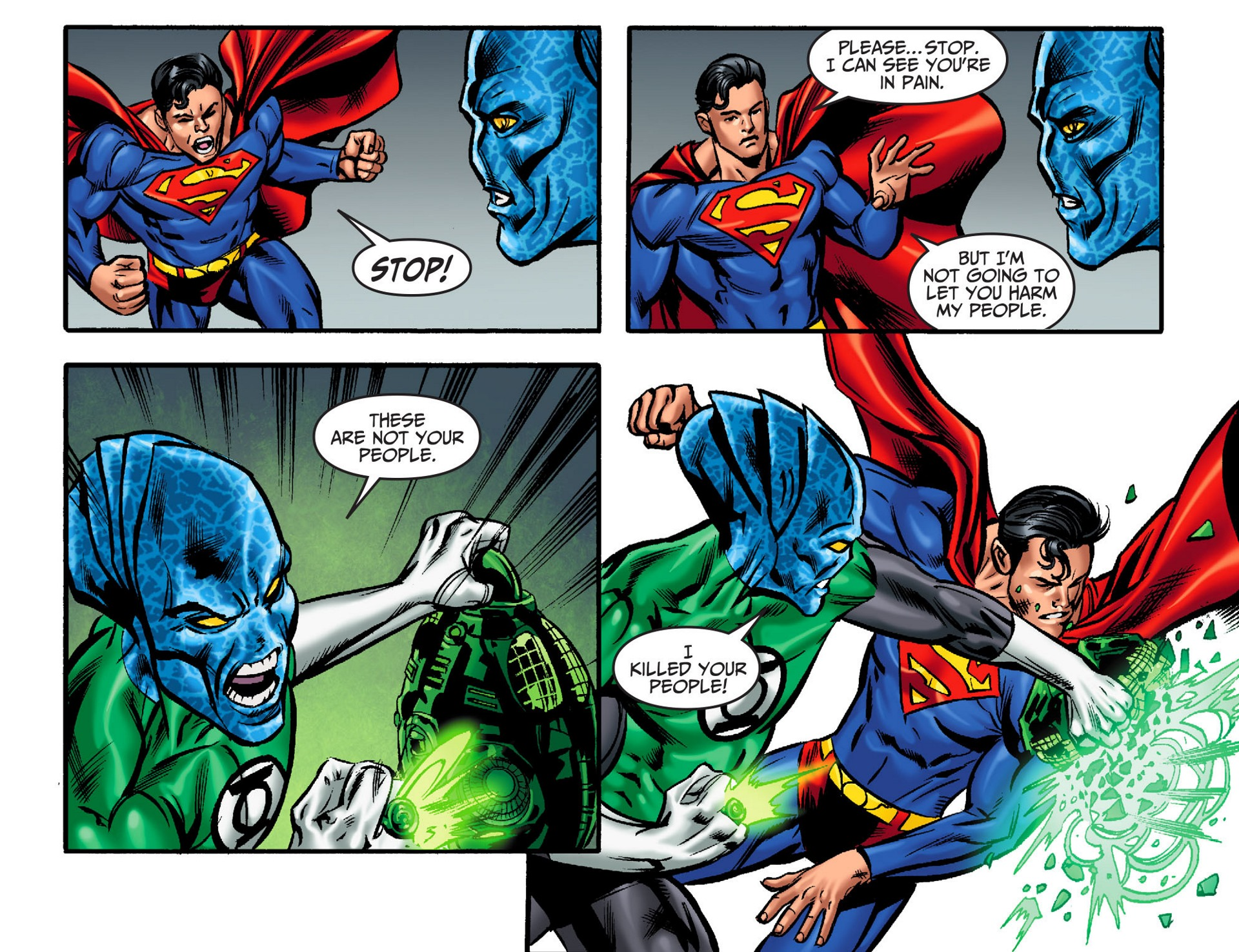 Read online Adventures of Superman [I] comic -  Issue #32 - 16