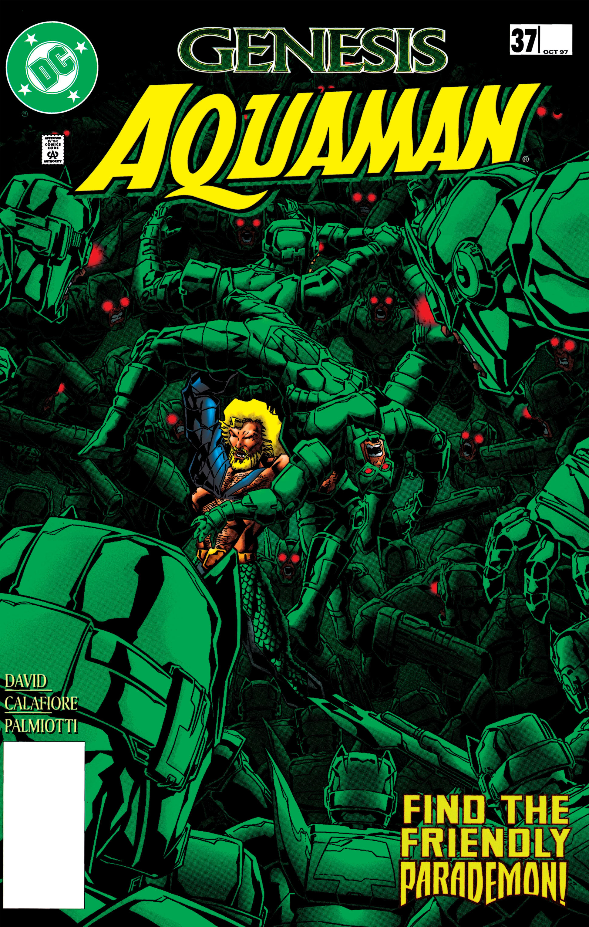 Read online Aquaman (1994) comic -  Issue #37 - 1