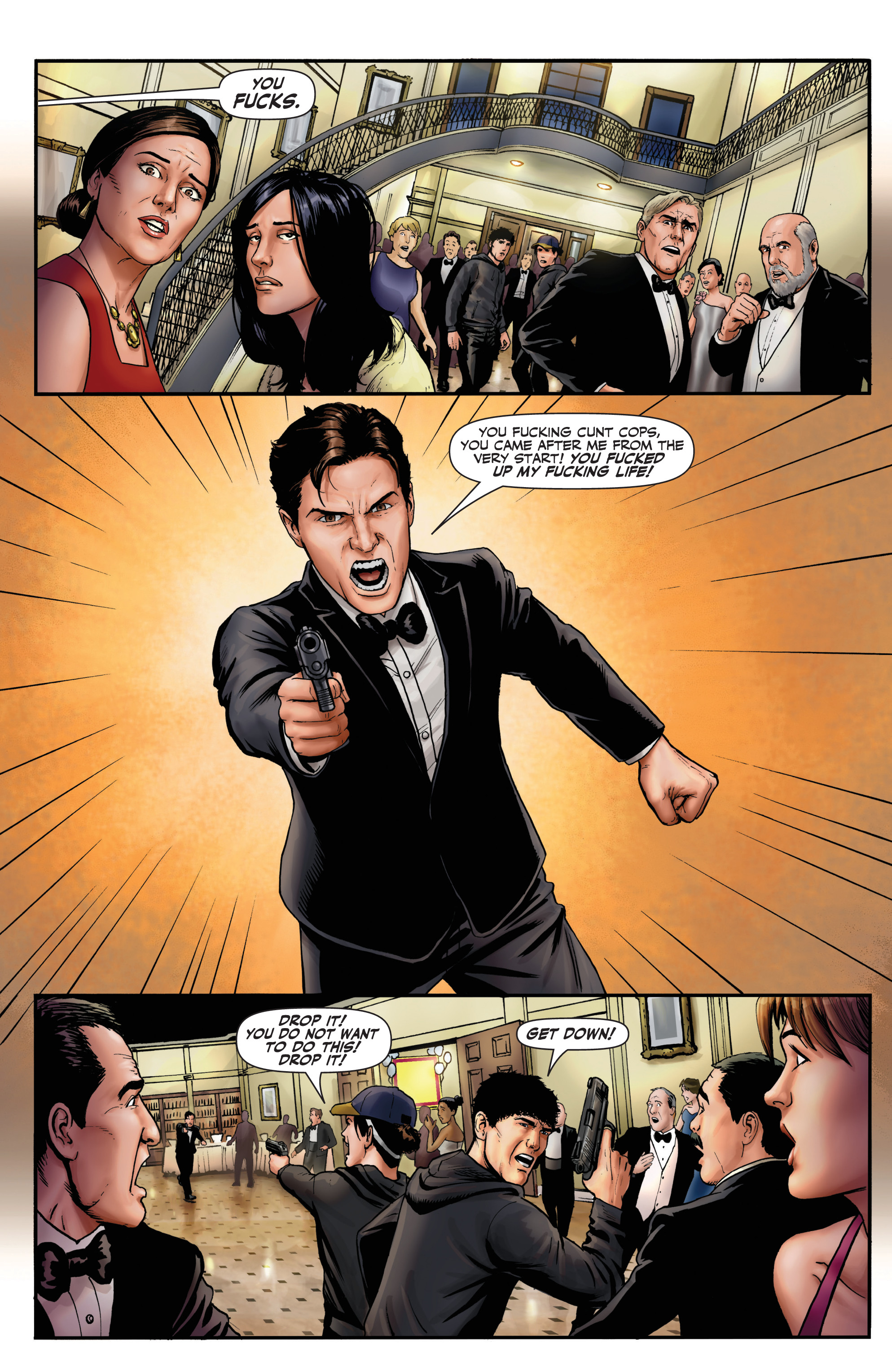 Read online Red Team: Double Tap, Center Mass comic -  Issue #9 - 11