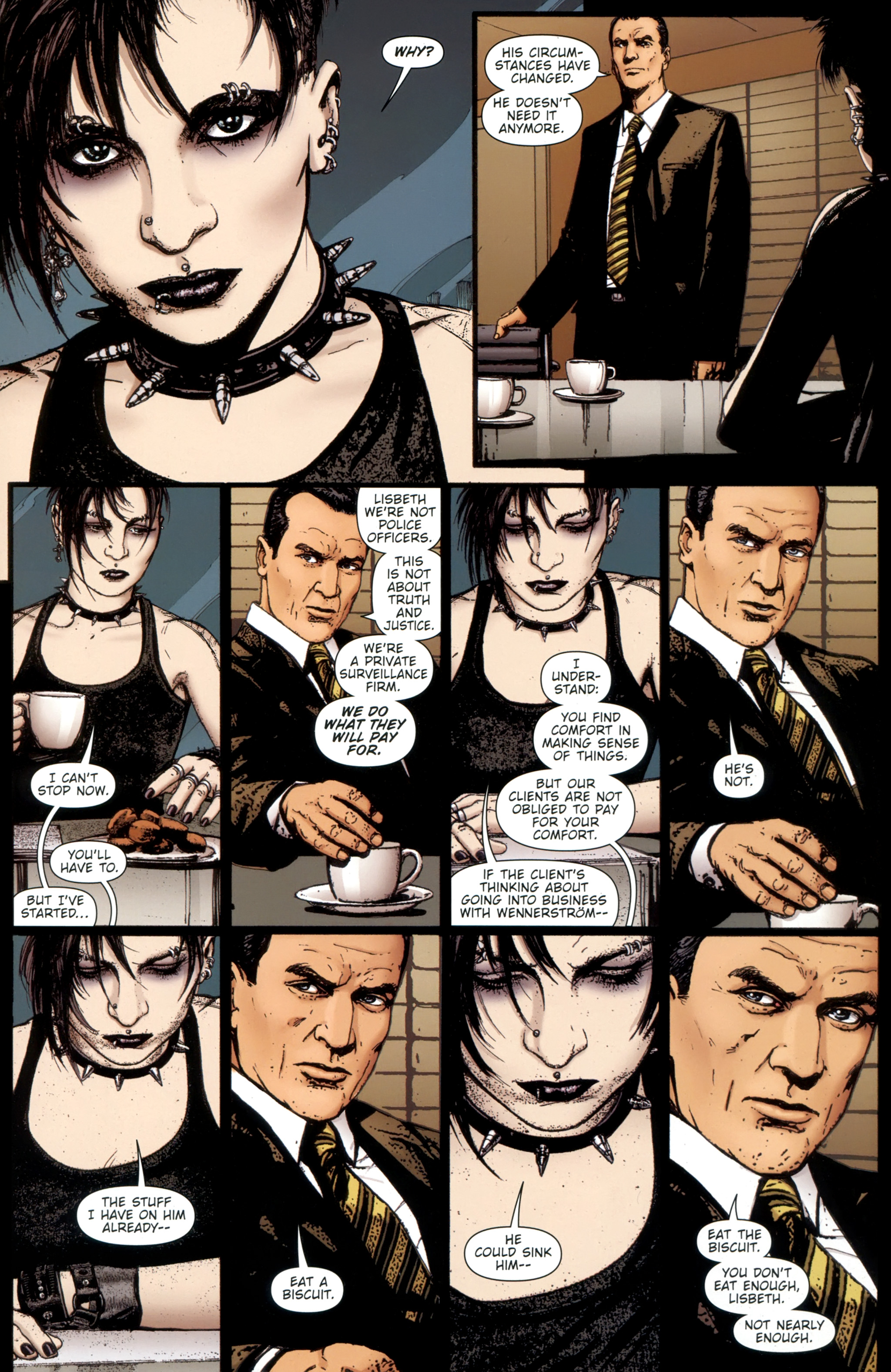 Read online The Girl With the Dragon Tattoo comic -  Issue # TPB 1 - 80