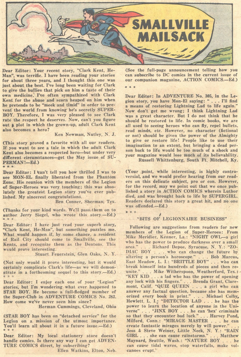 Read online Adventure Comics (1938) comic -  Issue #308 - 17