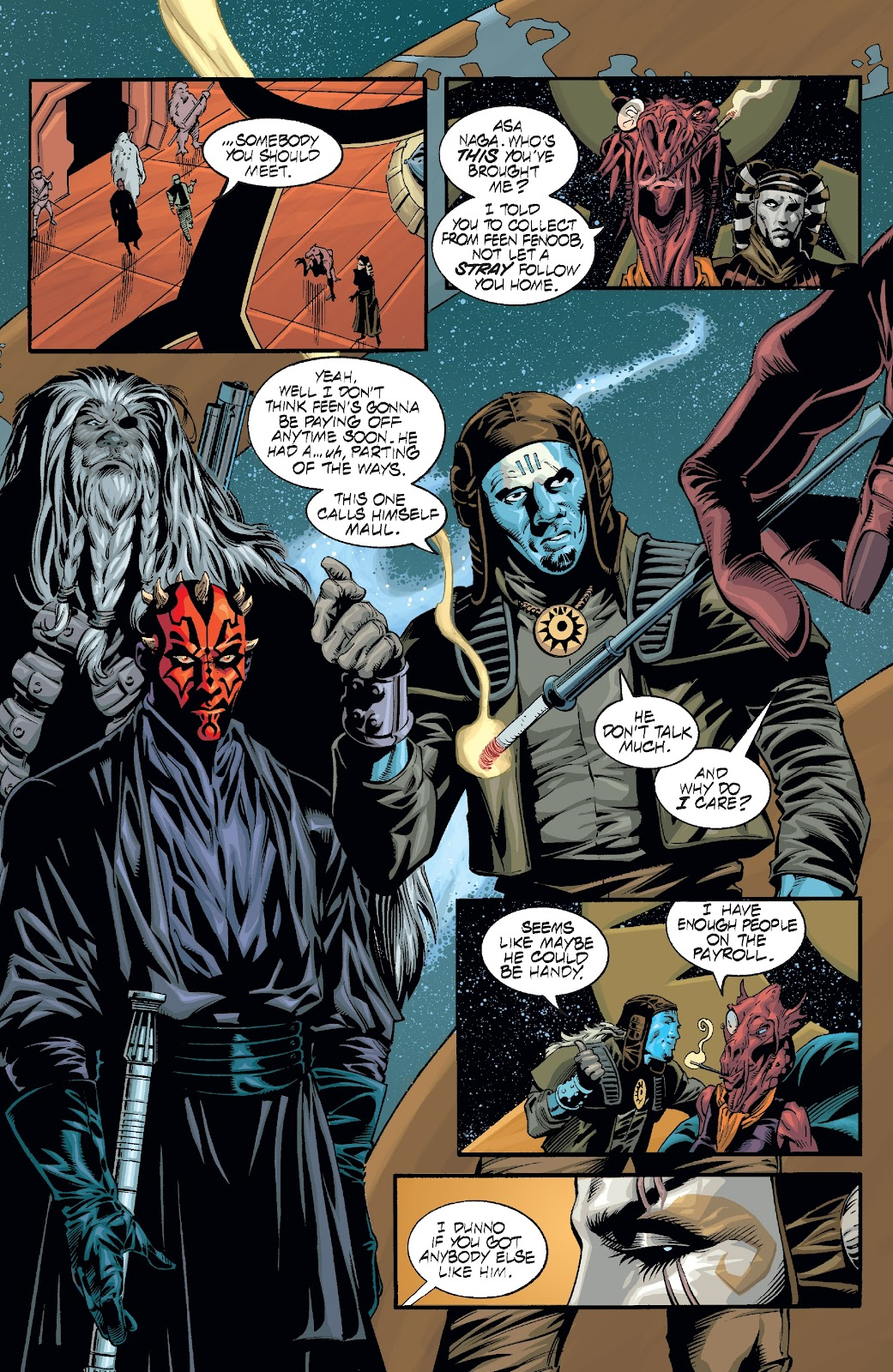 Read online Star Wars Legends: Rise of the Sith - Epic Collection comic -  Issue # TPB 2 (Part 2) - 74