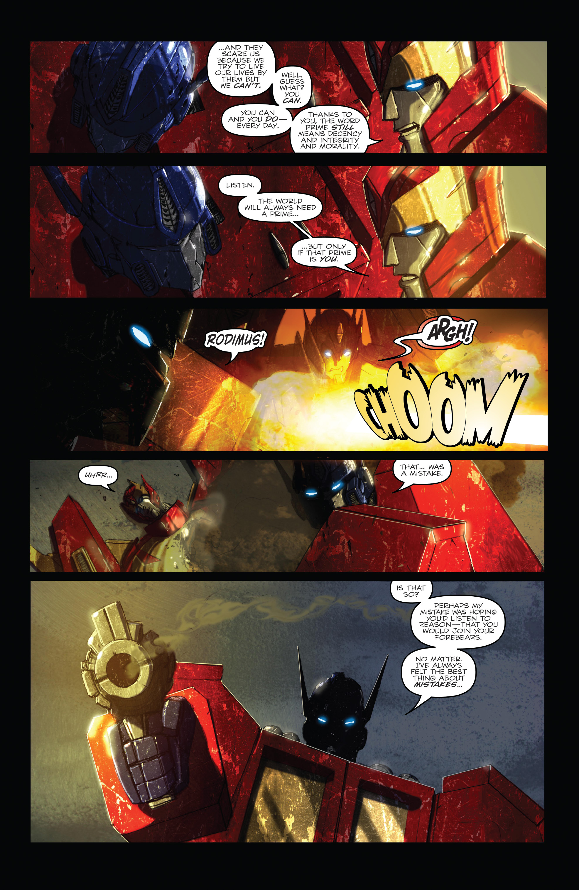 Read online The Transformers: Dark Cybertron Finale comic -  Issue # Full - 67