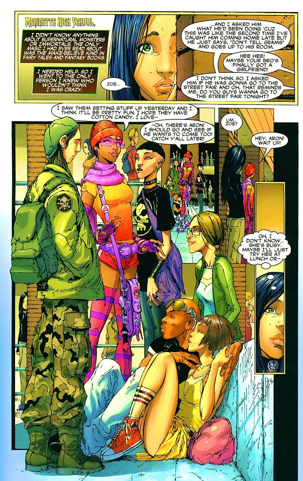 Read online Wraithborn comic -  Issue #4 - 9