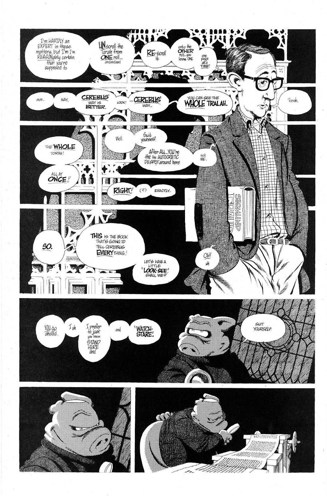 Cerebus Issue #280 #279 - English 6