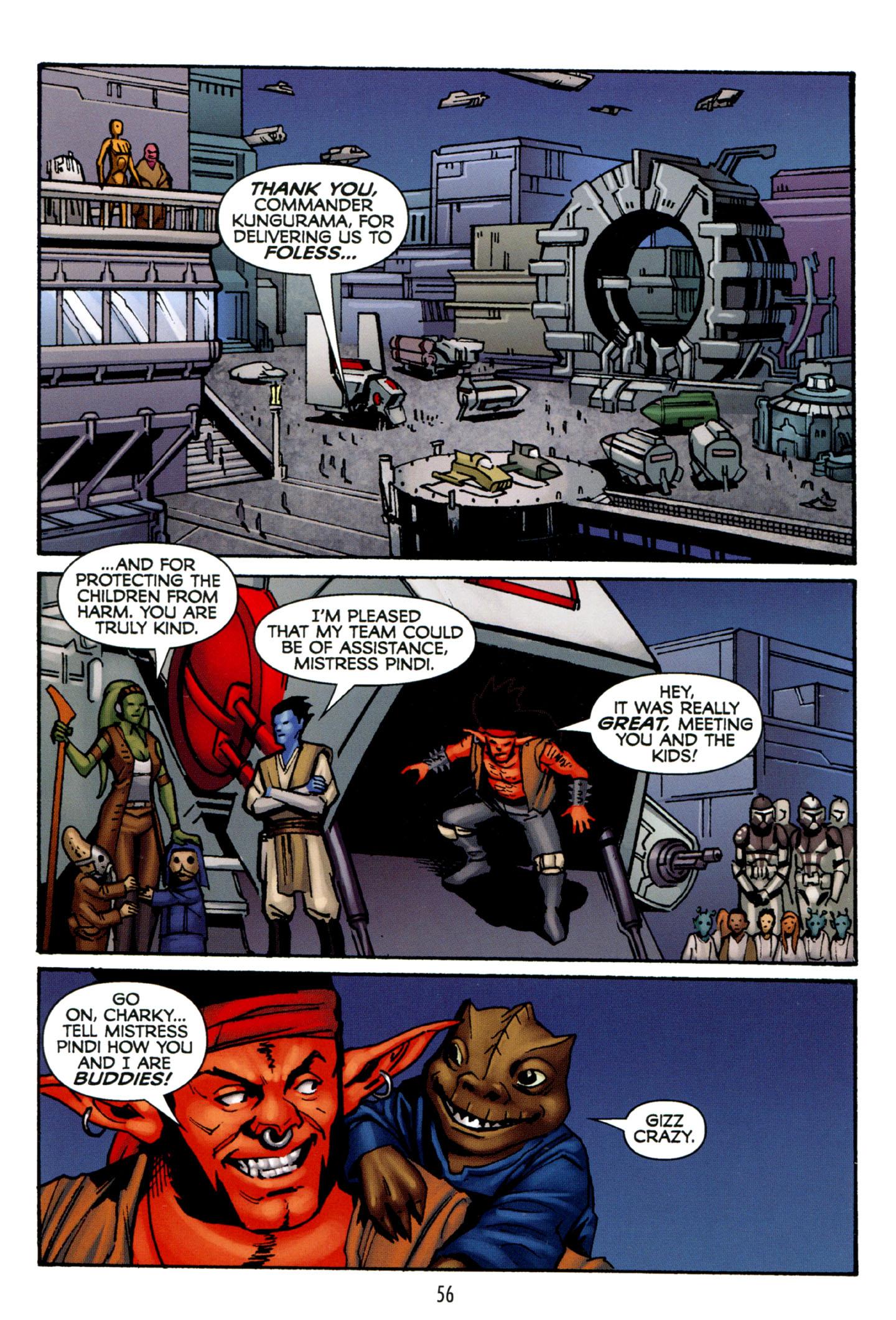Read online Star Wars: The Clone Wars - Strange Allies comic -  Issue # Full - 57