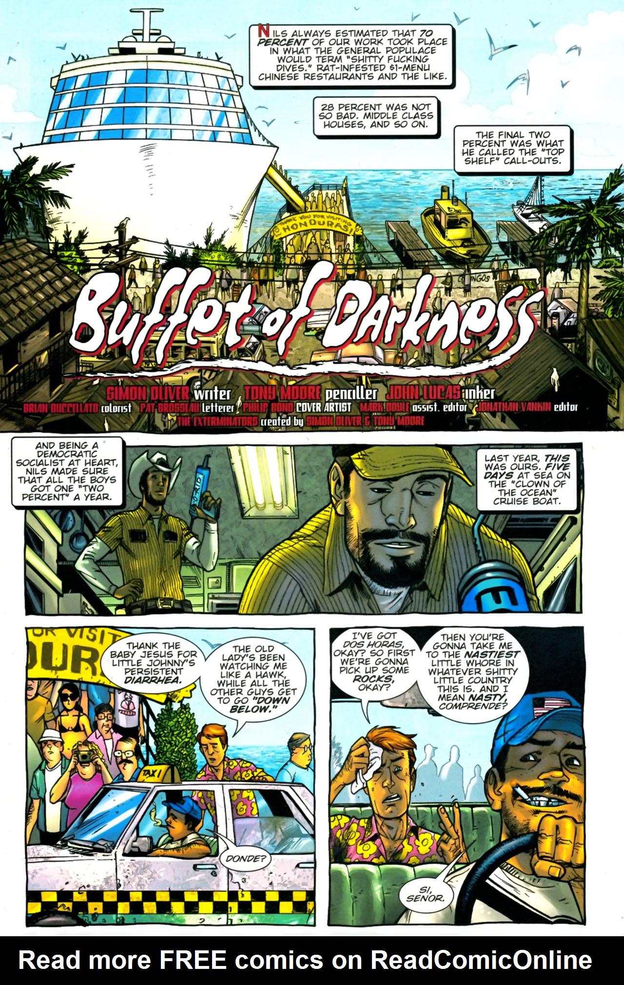 Read online The Exterminators comic -  Issue #24 - 2