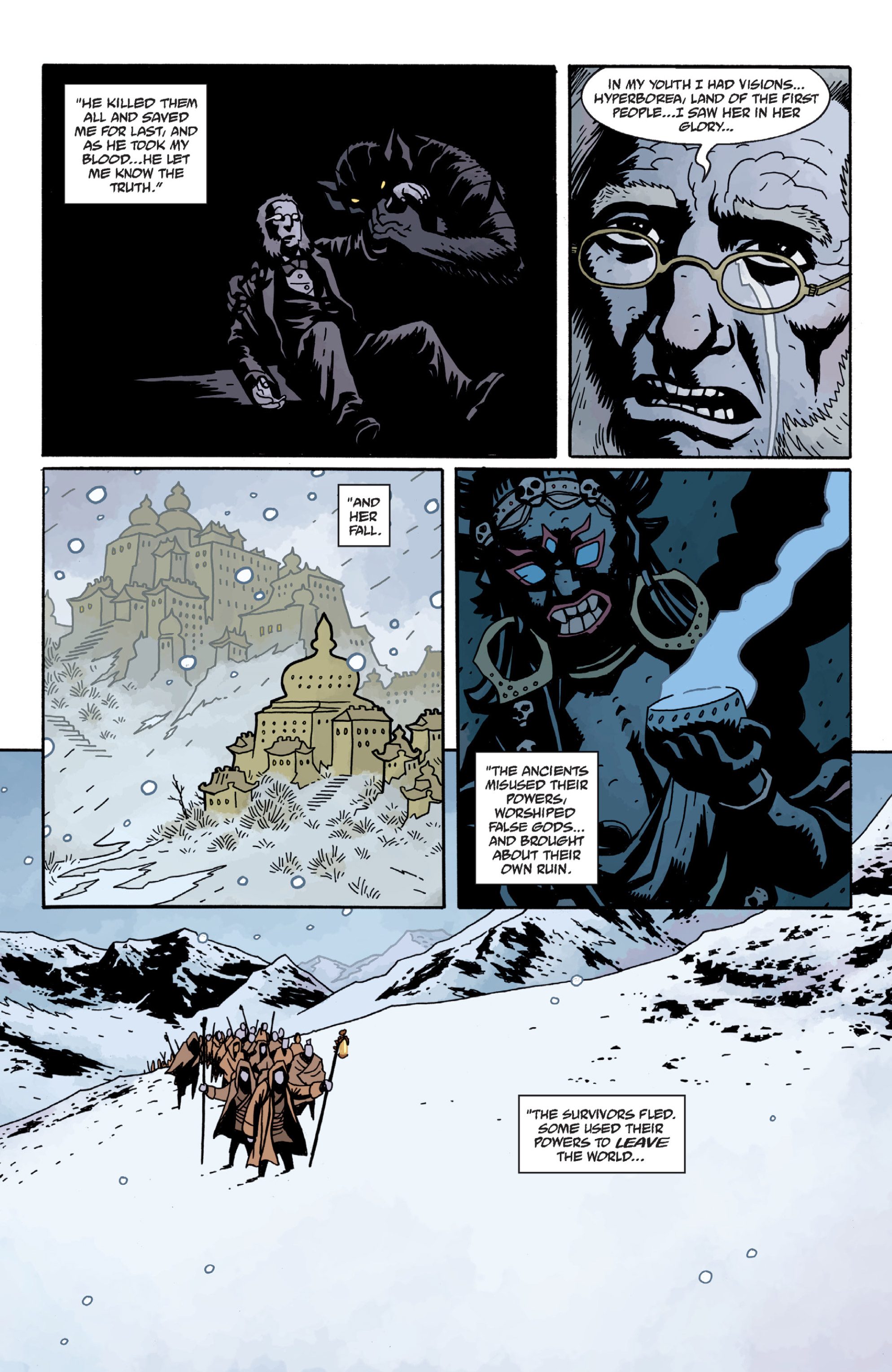 Read online Sir Edward Grey, Witchfinder: In the Service of Angels comic -  Issue # TPB - 73