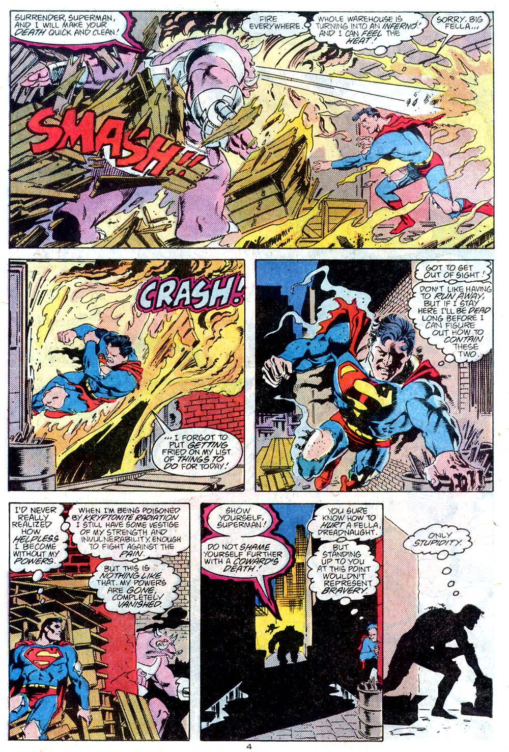 Read online Adventures of Superman (1987) comic -  Issue #442 - 5
