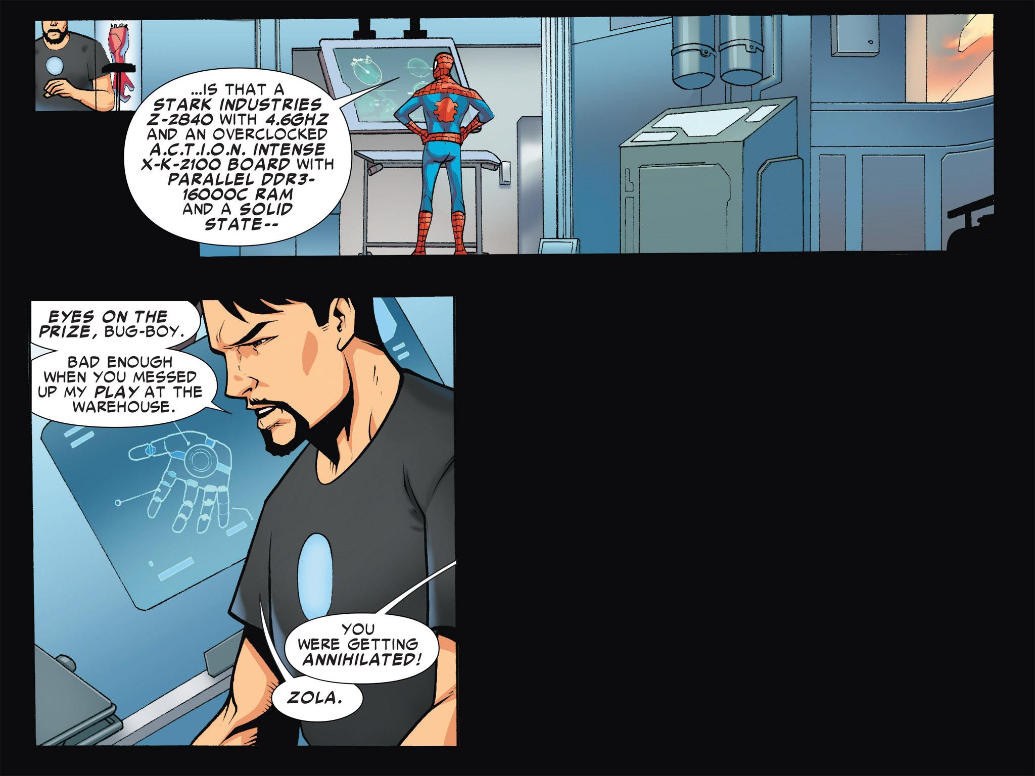 Read online Ultimate Spider-Man (Infinite Comics) (2016) comic -  Issue #4 - 10