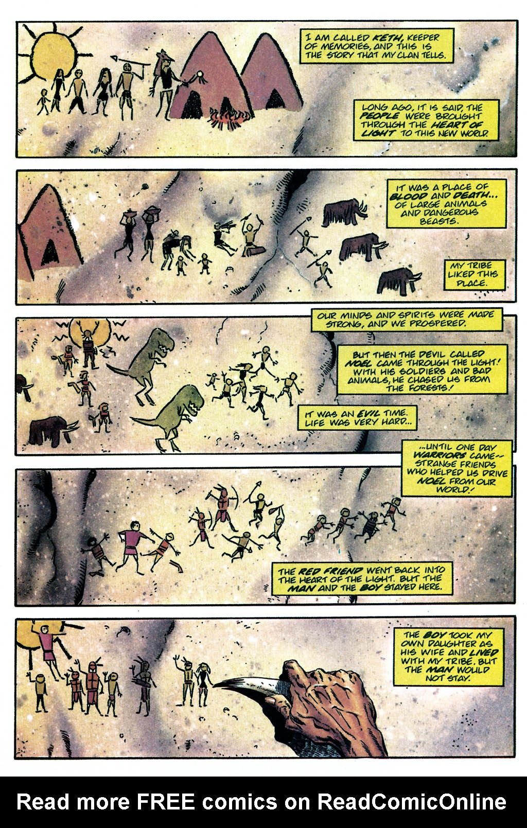 Read online Turok, Dinosaur Hunter (1993) comic -  Issue #24 - 6