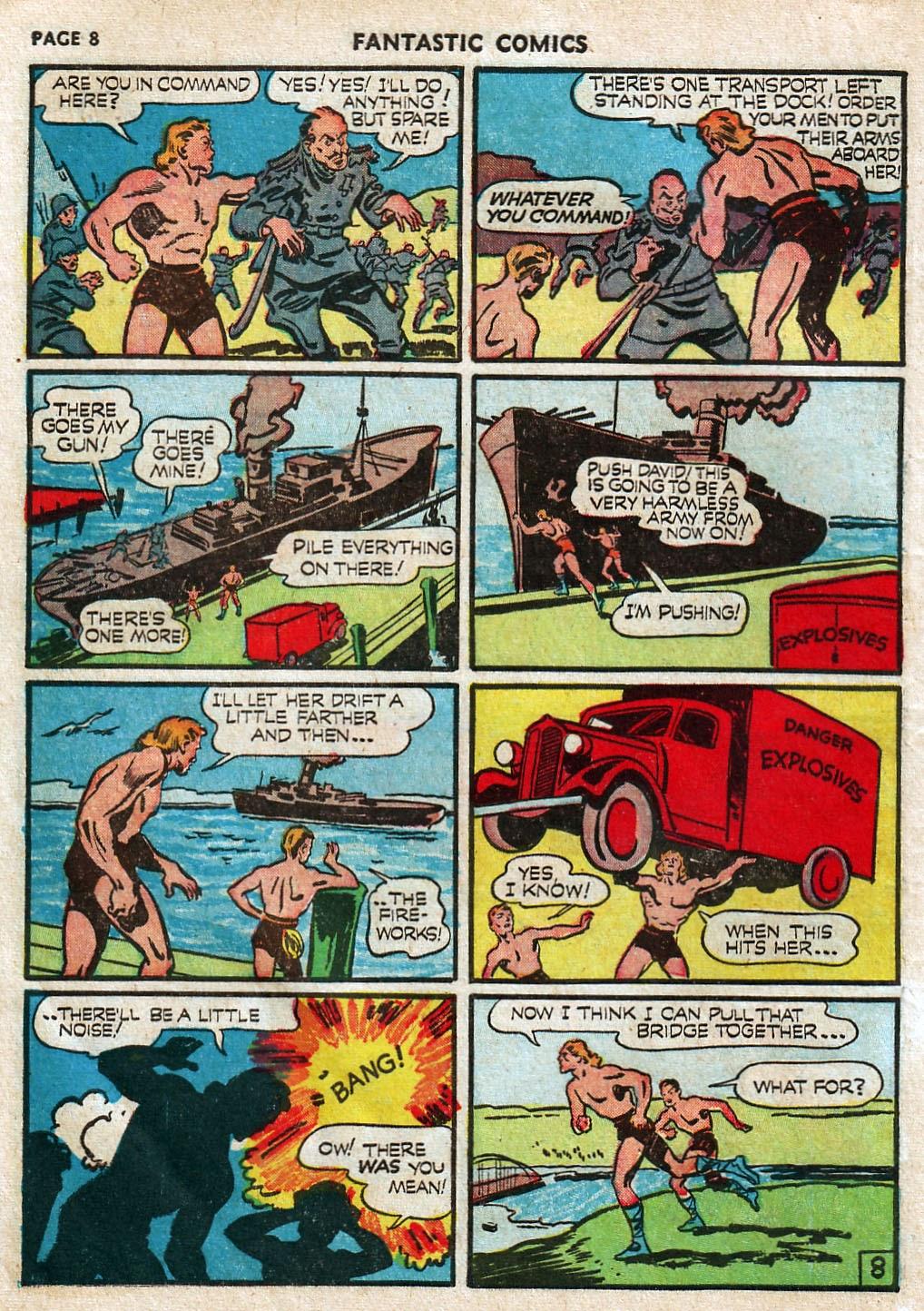 Read online Fantastic Comics comic -  Issue #17 - 10