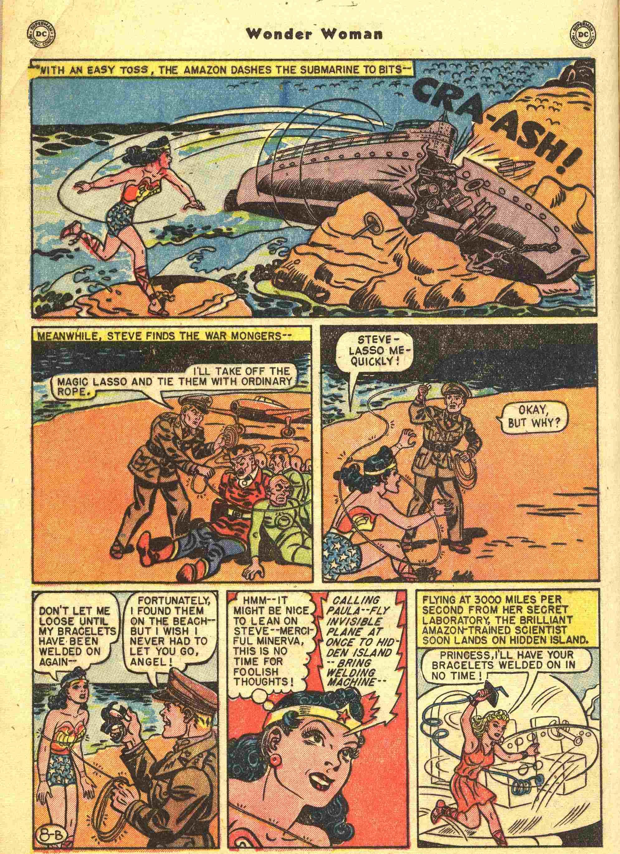 Read online Wonder Woman (1942) comic -  Issue #44 - 21