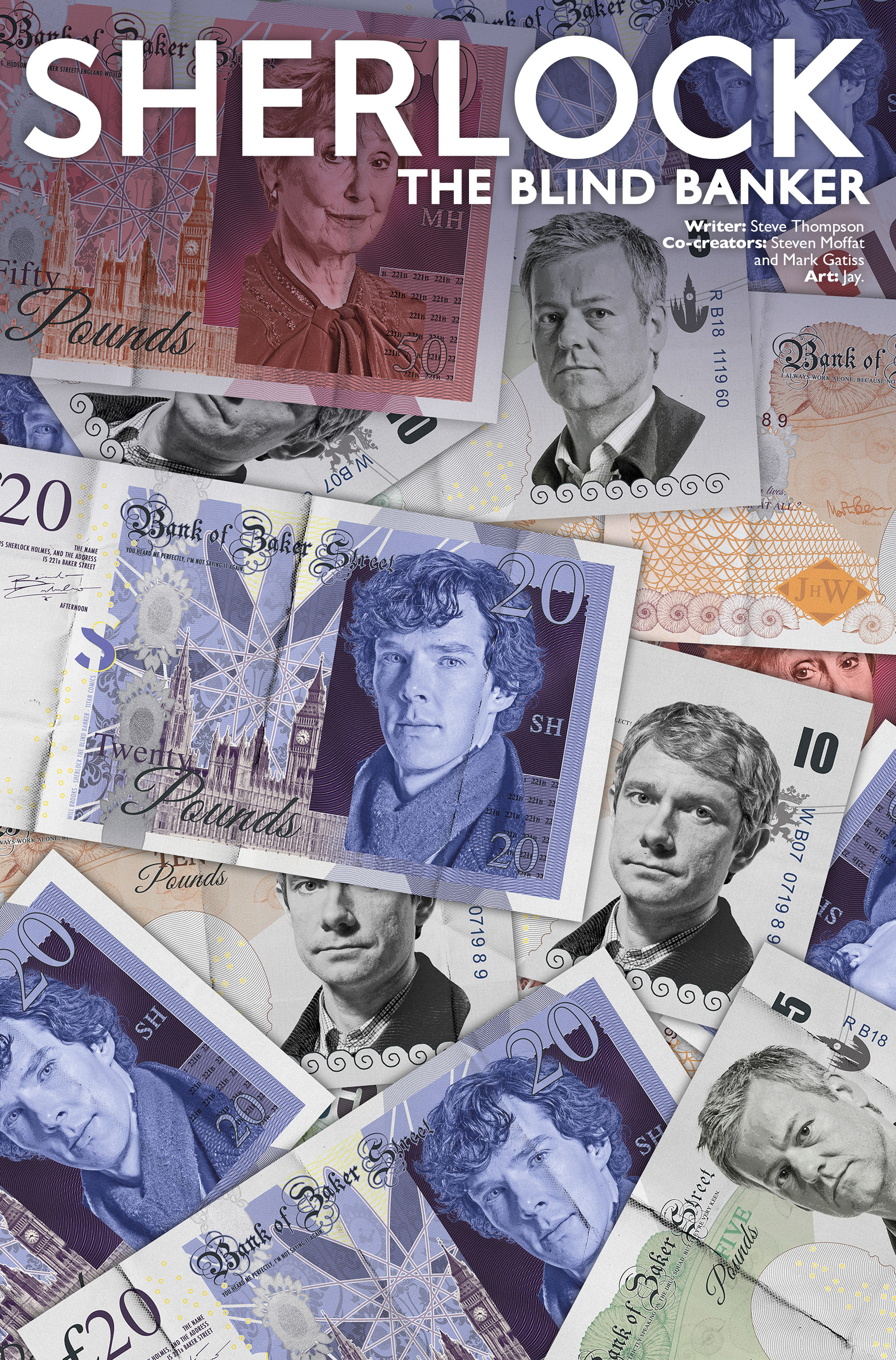 Read online Sherlock: The Blind Banker comic -  Issue #2 - 2