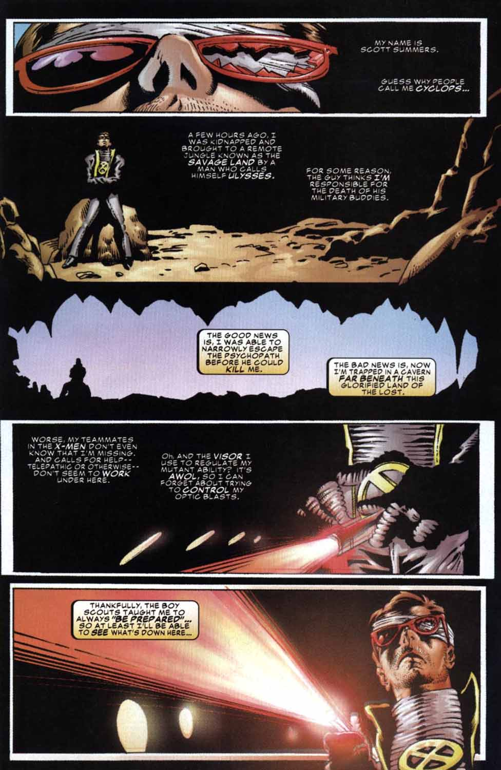 Read online Cyclops (2001) comic -  Issue #3 - 2