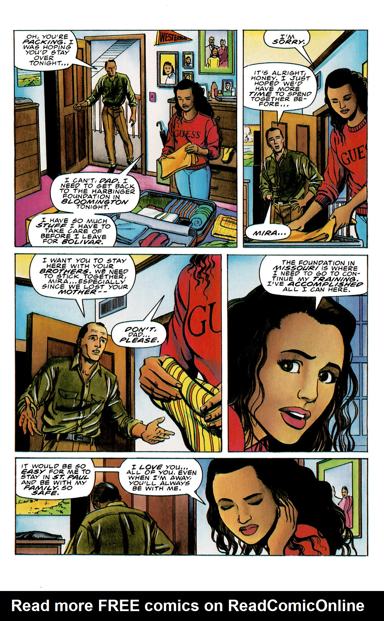 Read online Harbinger (1992) comic -  Issue #26 - 10