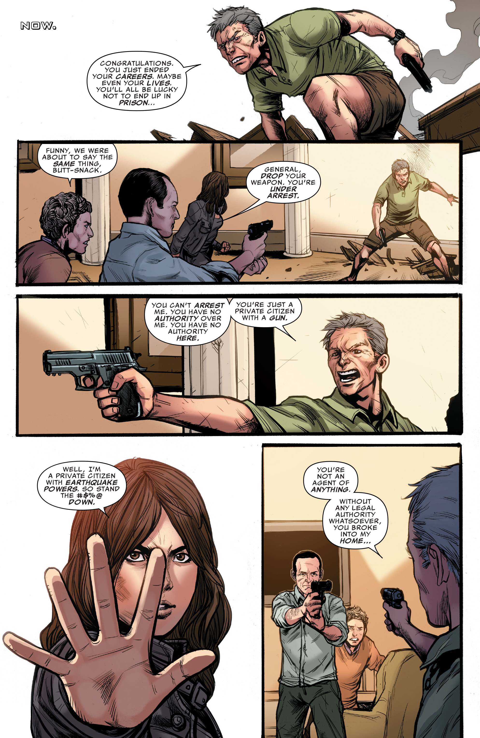 Read online Agents of S.H.I.E.L.D. comic -  Issue #10 - 16