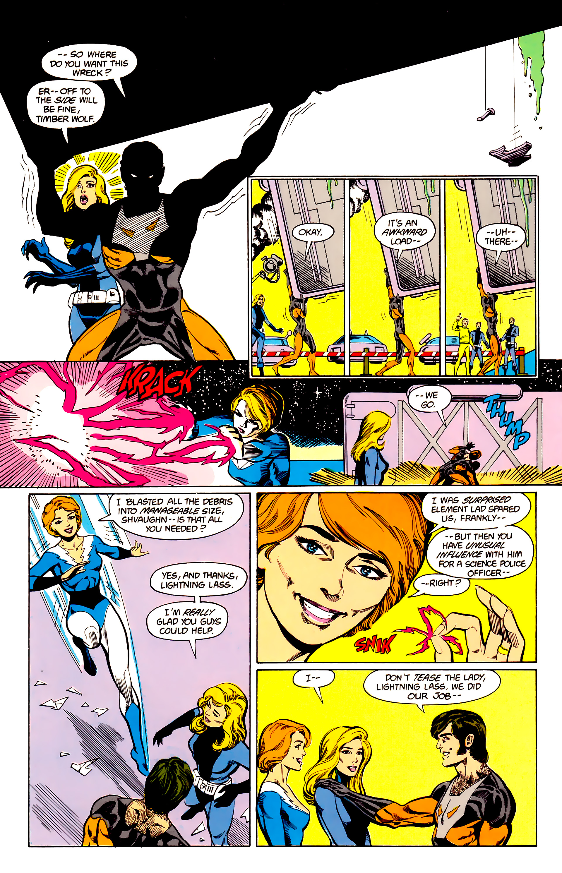 Legion of Super-Heroes (1984) 24 Page 25