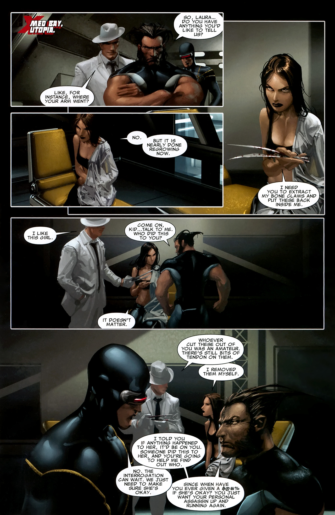 Read online X Necrosha comic -  Issue # Full - 14