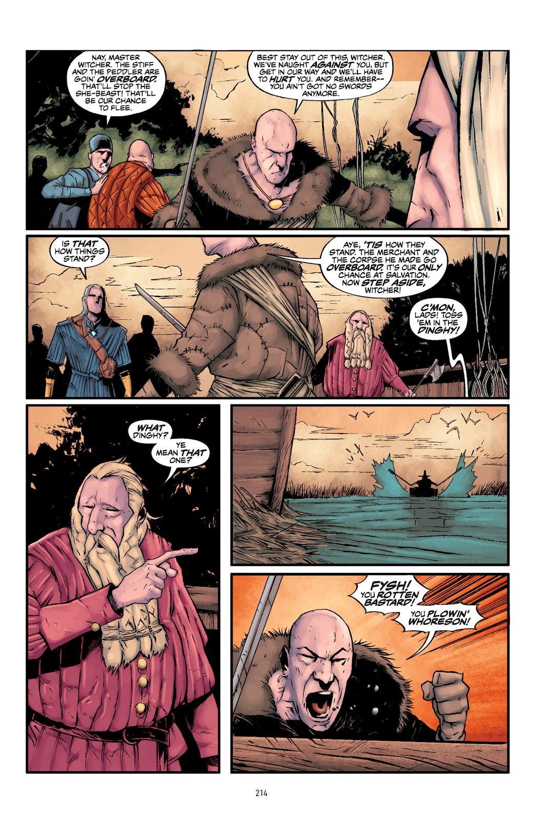 Read online The Witcher Omnibus comic -  Issue # TPB (Part 3) - 17
