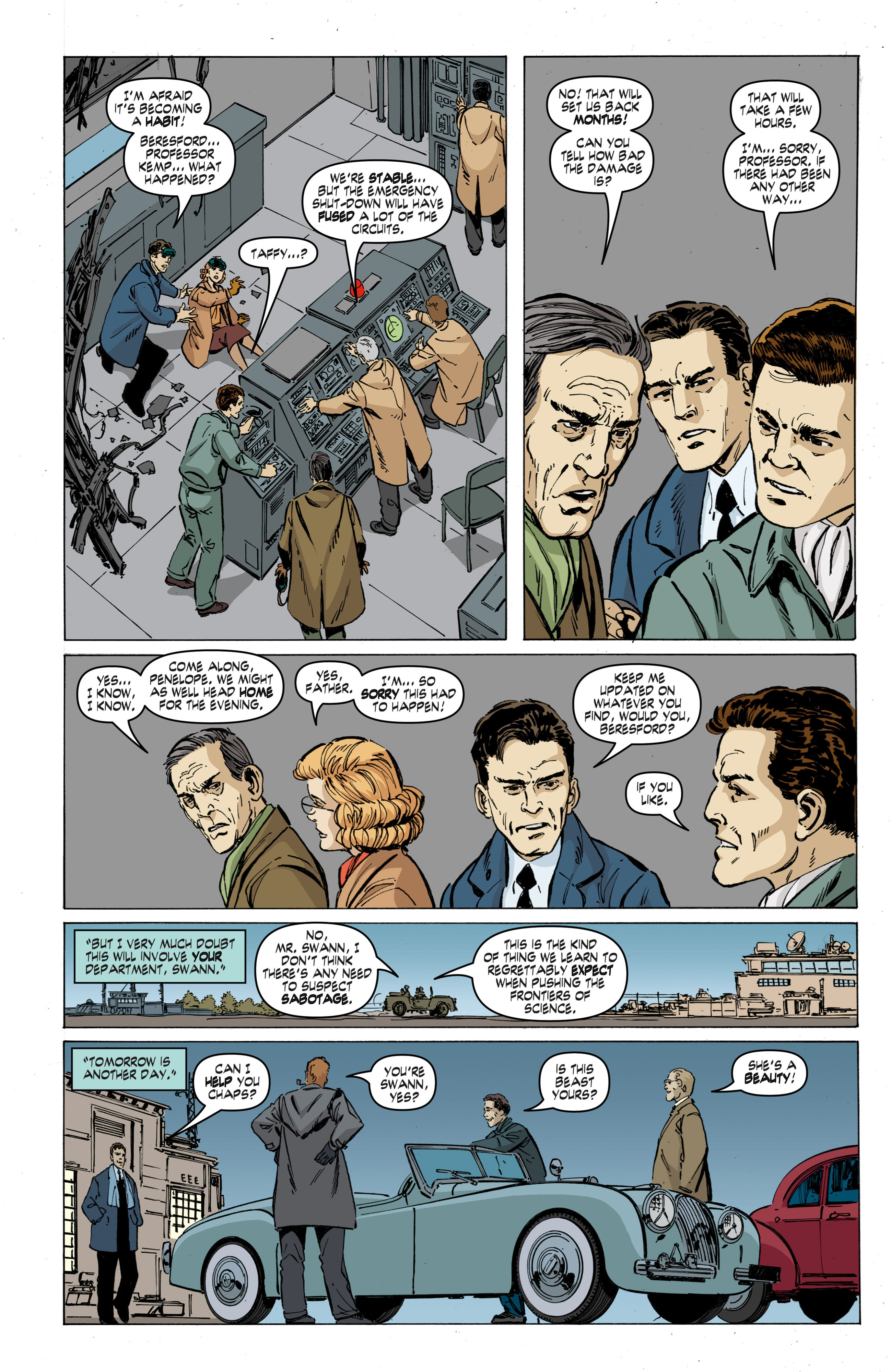 Read online Cold War comic -  Issue # TPB - 41