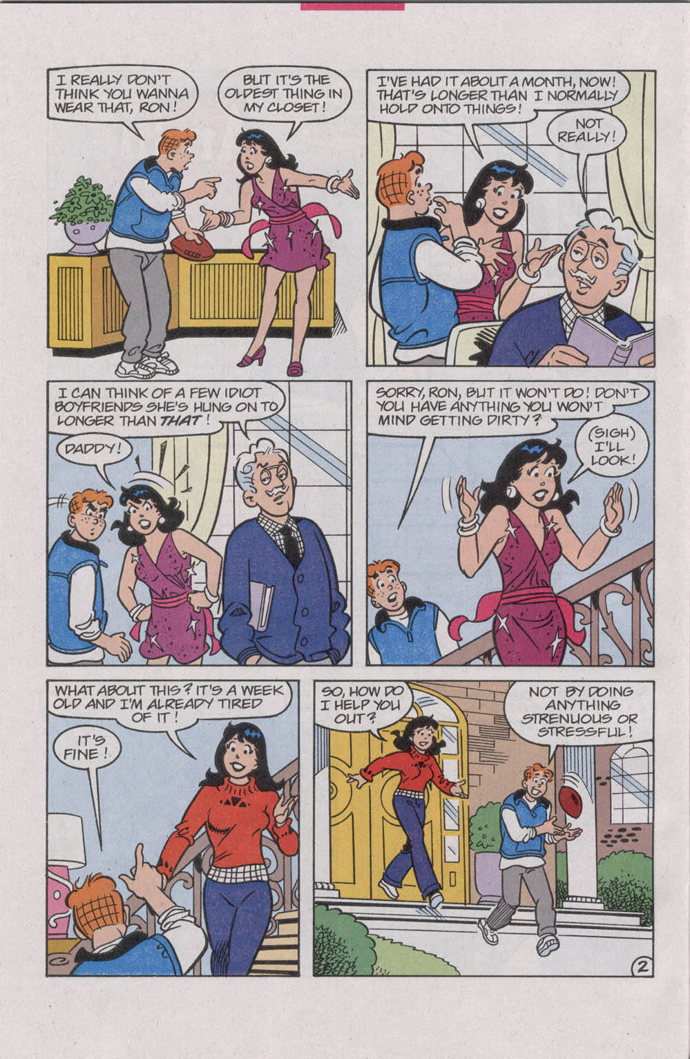 Read online Archie (1960) comic -  Issue #542 - 28