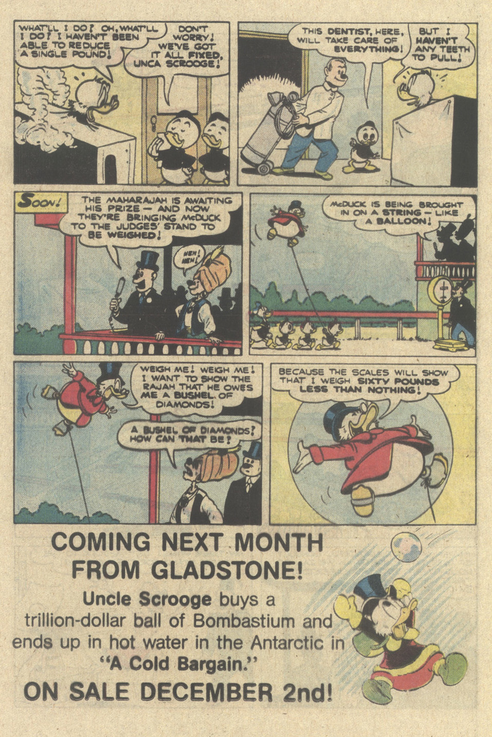 Read online Uncle Scrooge (1953) comic -  Issue #214 - 24