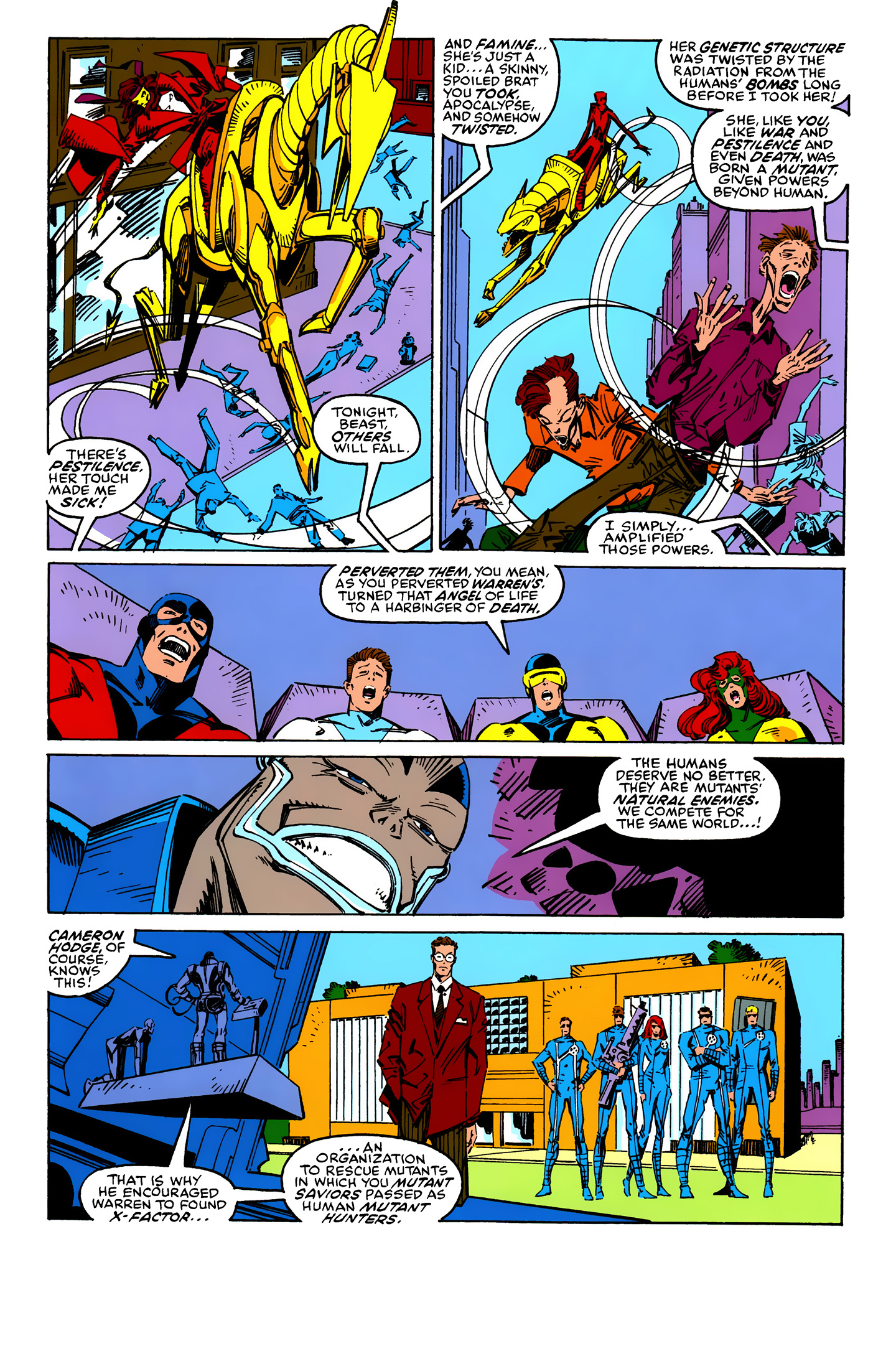 Read online X-Factor (1986) comic -  Issue #25 - 4