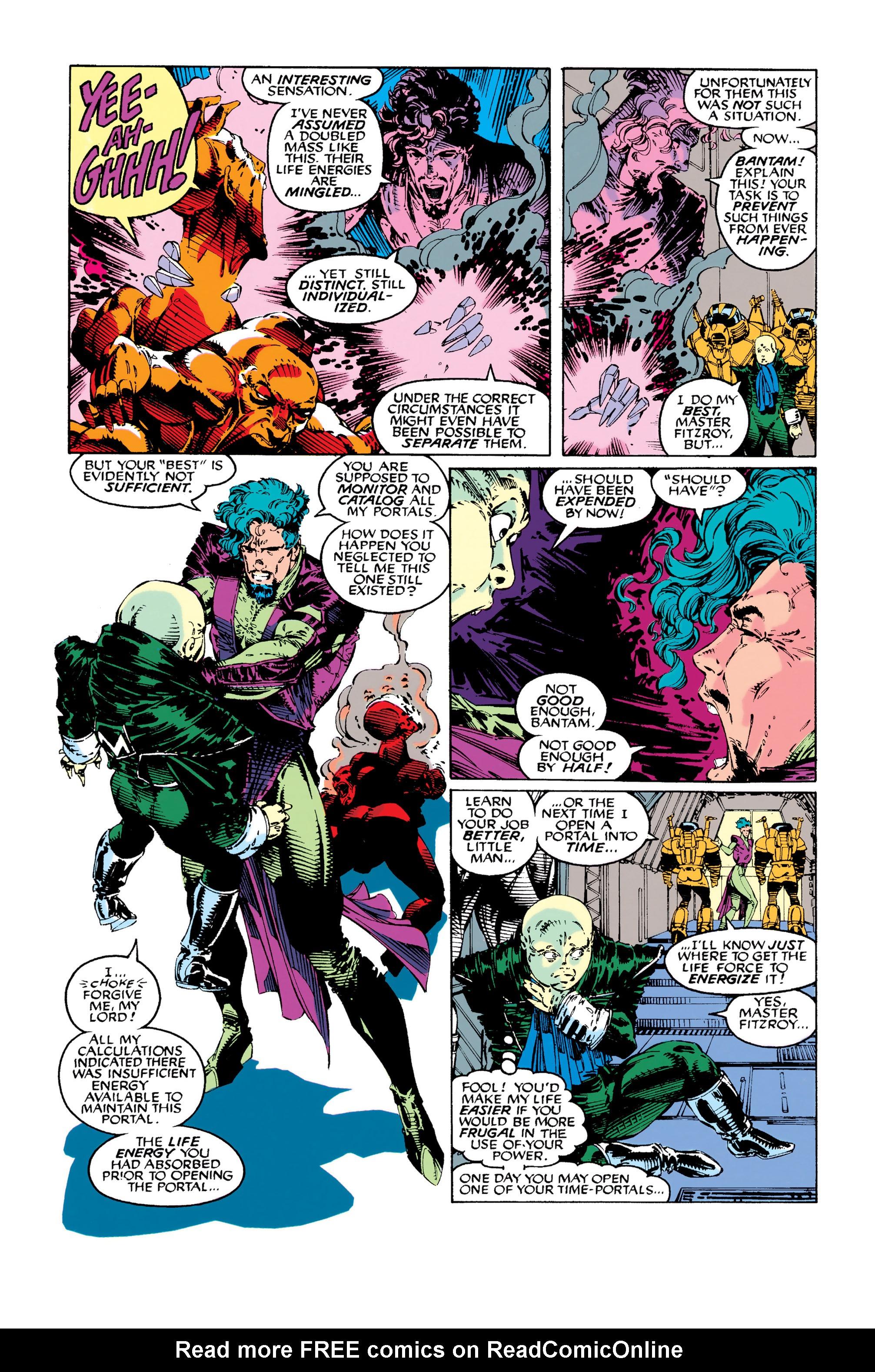 Read online Uncanny X-Men (1963) comic -  Issue #282 - 8