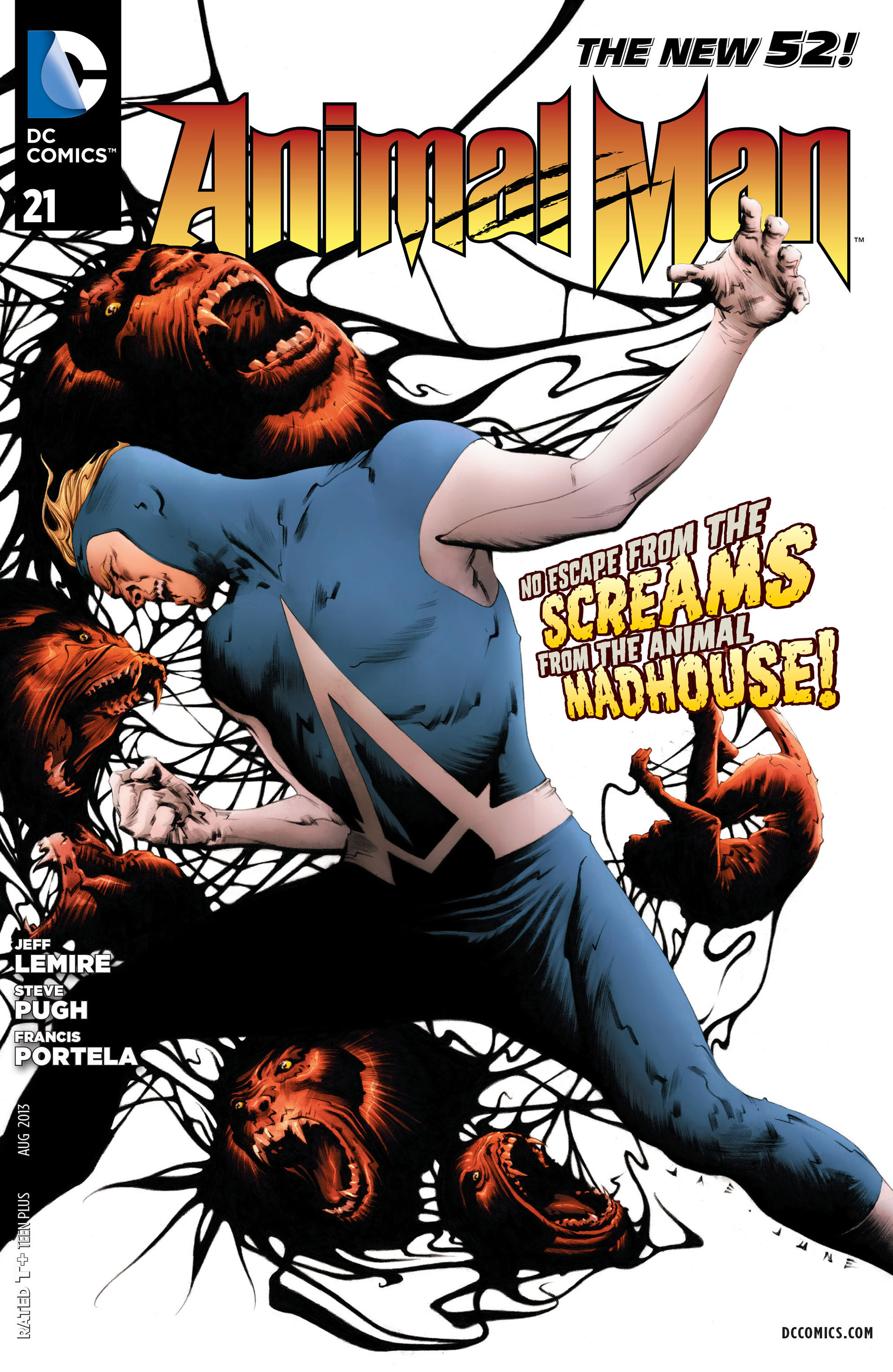 Read online Animal Man (2011) comic -  Issue #21 - 1