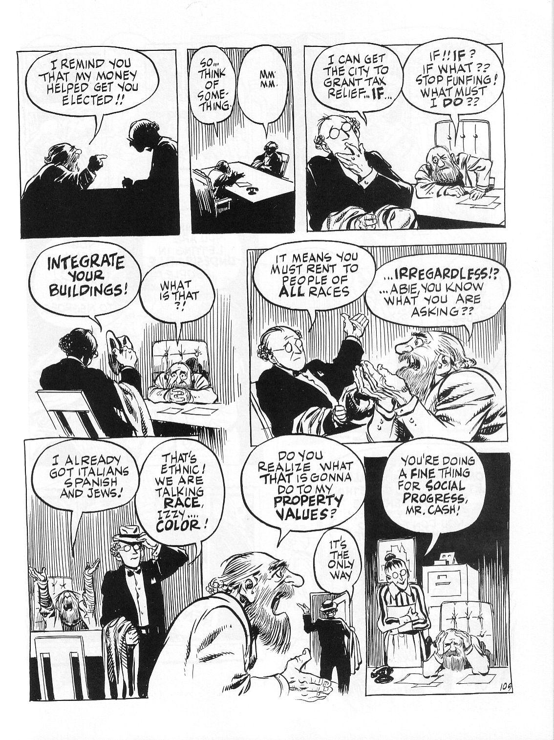 Read online Dropsie Avenue, The Neighborhood comic -  Issue # Full - 111