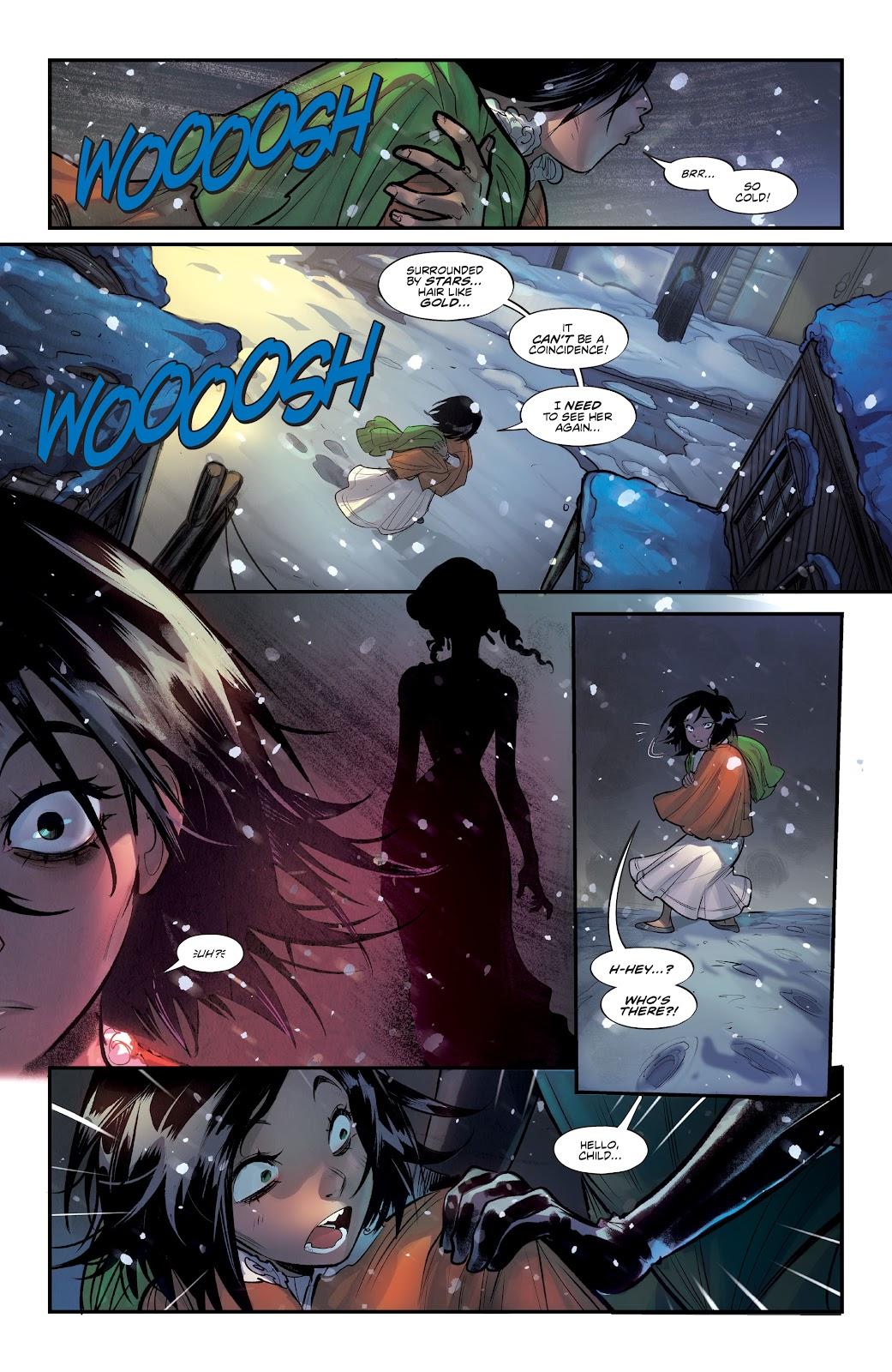 Read online Mirka Andolfo's Mercy comic -  Issue #2 - 21