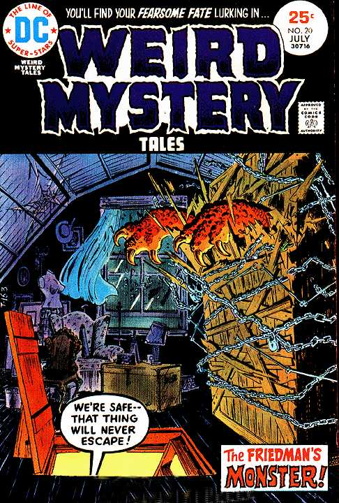 Weird Mystery Tales 20 Page 1