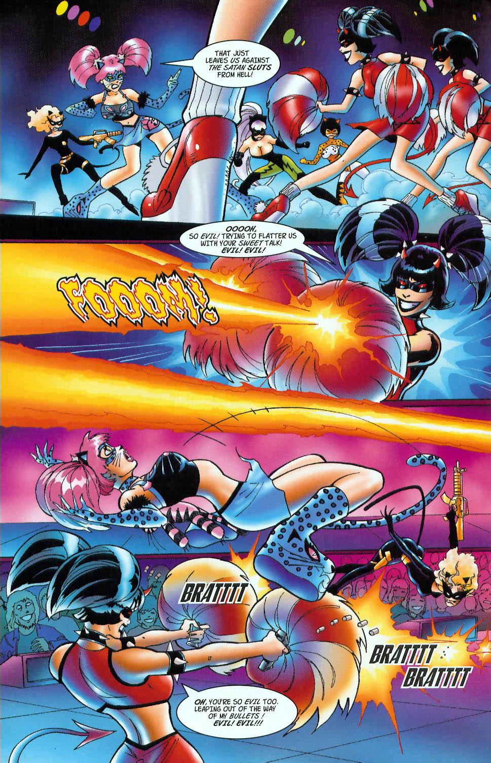 Read online 3 Little Kittens: Purrr-fect Weapons comic -  Issue #3 - 14