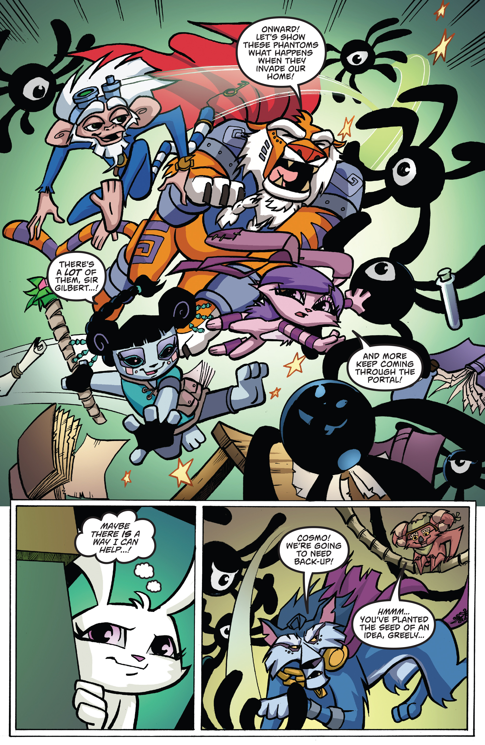 Read online Free Comic Book Day 2017 comic -  Issue # Animal Jam - 19