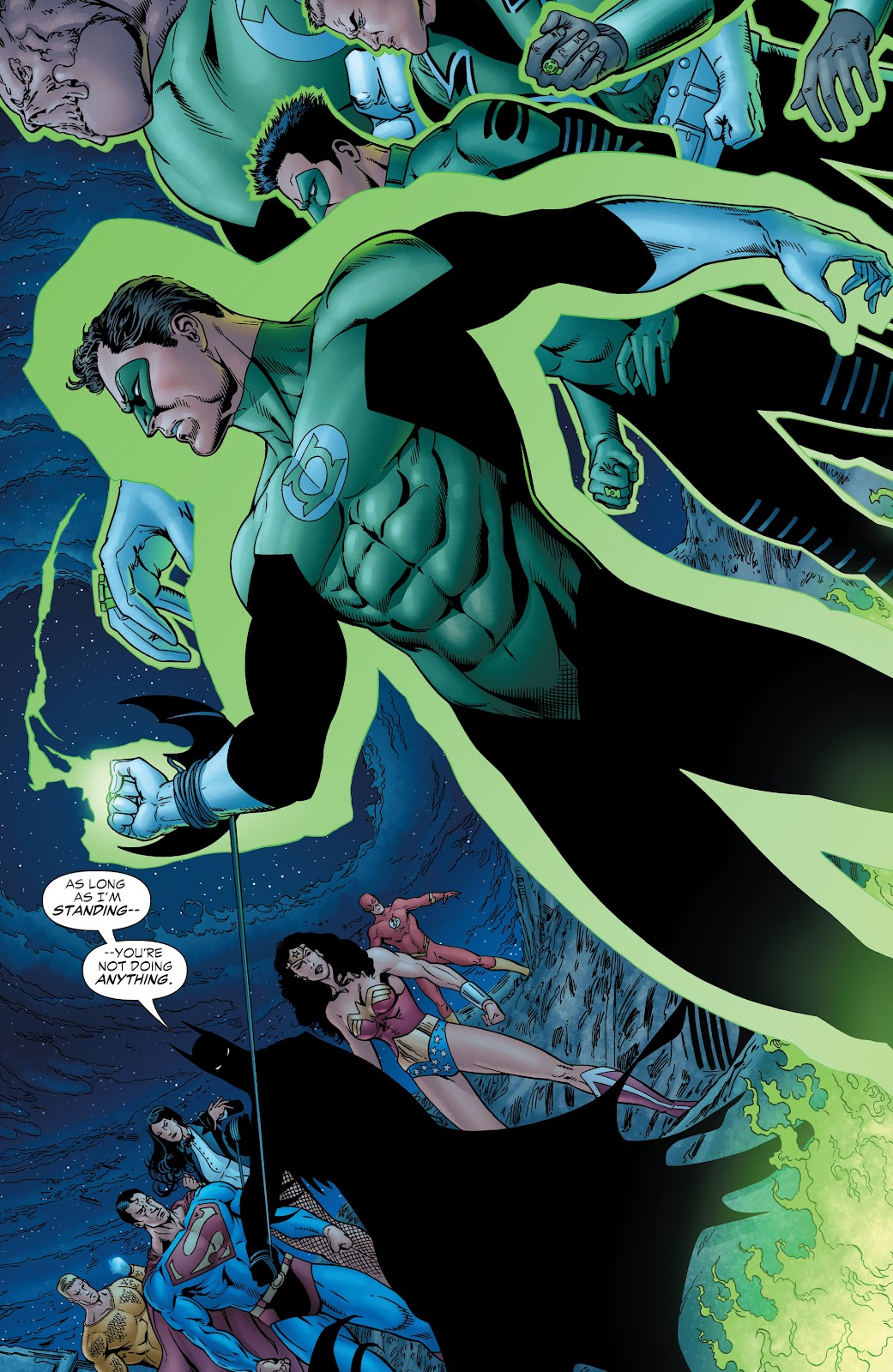 Read online Green Lantern by Geoff Johns comic -  Issue # TPB 1 (Part 2) - 32