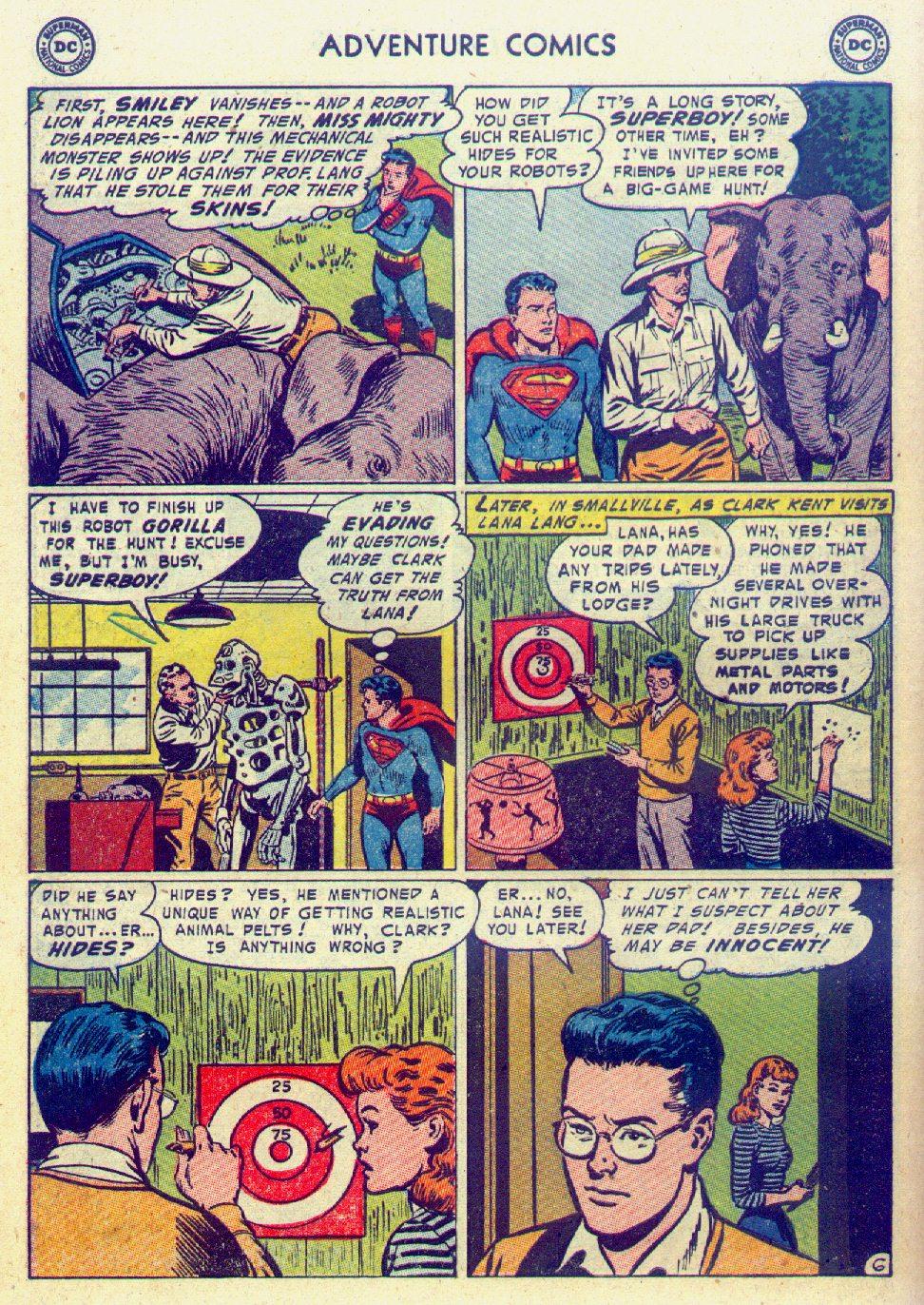 Read online Adventure Comics (1938) comic -  Issue #201 - 8