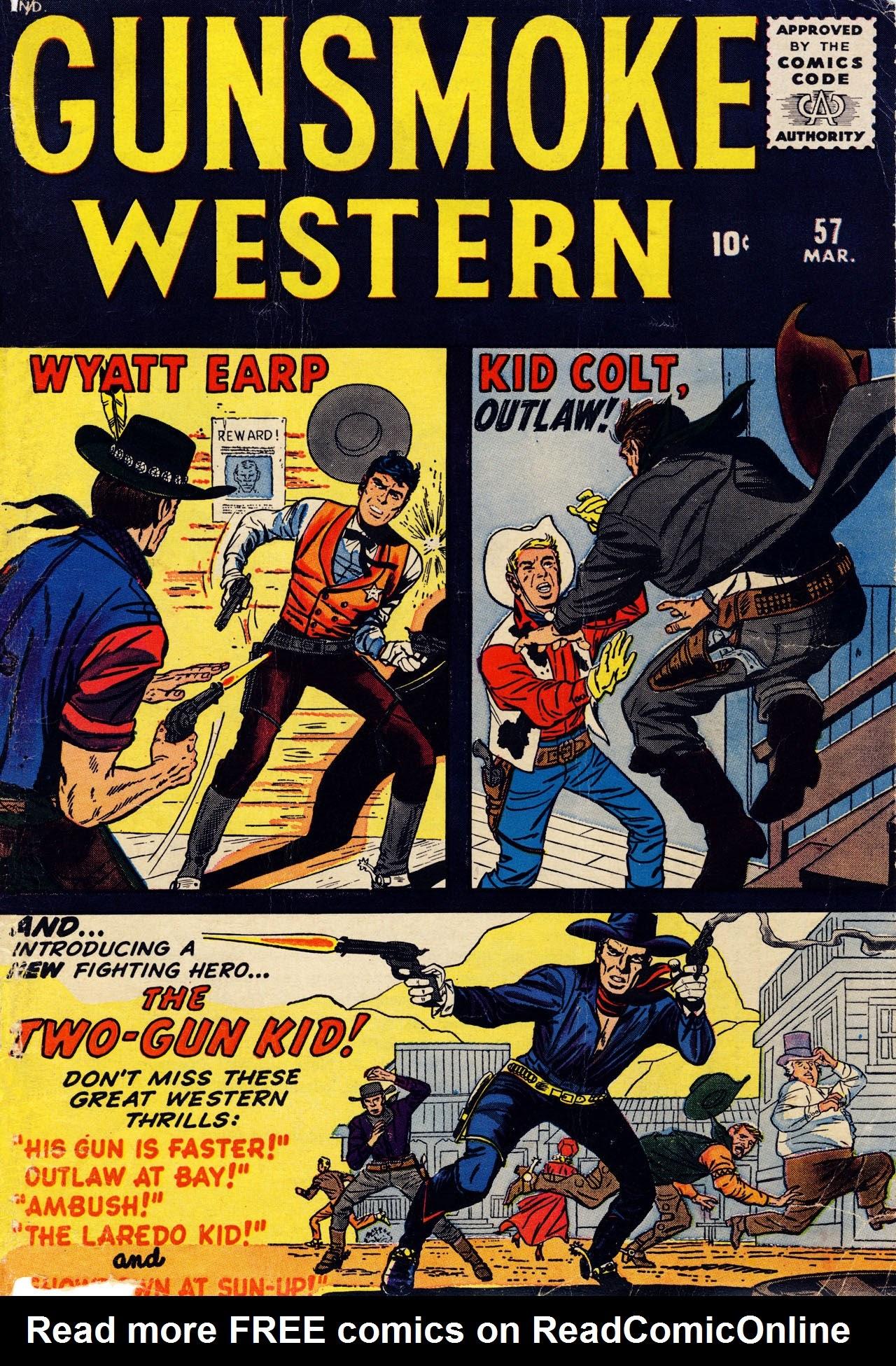 Gunsmoke Western 57 Page 1