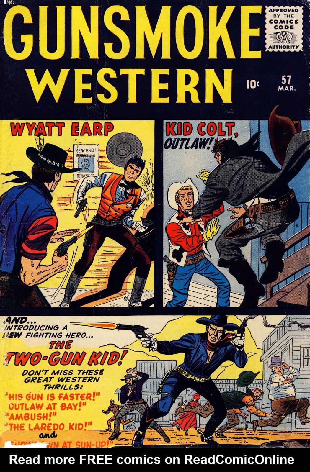 Gunsmoke Western issue 57 - Page 1