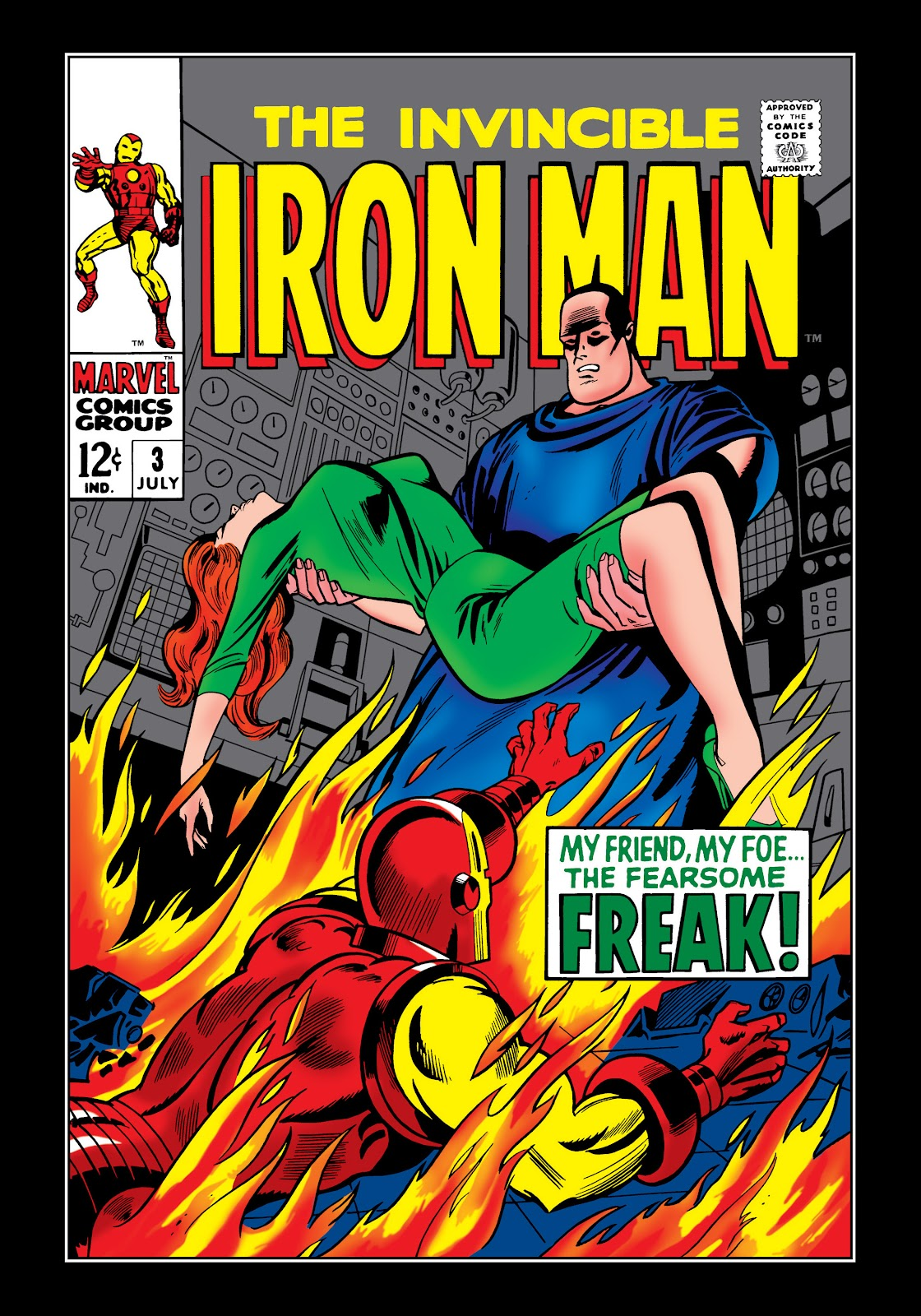 Read online Marvel Masterworks: The Invincible Iron Man comic -  Issue # TPB 5 (Part 1) - 28